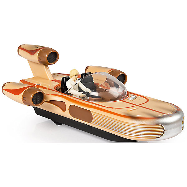 Скоростной байк на р/у, Air Hogs, Звёздные войныДругие радиуправляемые игрушки<br>Скоростной байк, Air Hogs, Звёздные войны - это радиоуправляемая машинка с антуражным корпусом, световыми и звуковыми эффектами.<br>Модель спидербайка, оседланного имперским штурмовиком, какие вы могли видеть на Эндоре в шестом эпизоде, без сомнения понравится вашему ребенку. Теперь у него есть возможность воссоздать любимые сцены из фильма. Спидер - антигравитационный транспорт из вселенной Звездных войн. Антигравитационные технологии, увы, пока существуют только в кино, но плавный ход небольших колес радиоуправляемой игрушки создает правдивую иллюзию полета. Модель может похвастаться высококачественным детализированным корпусом, прекрасной маневренностью и чувствительным управлением, а также световыми и звуковыми эффектами.<br><br>Дополнительная информация:<br><br>- В наборе: спидер, пульт<br>- Размер: 20-22 см.<br>- Батарейки: 6 х AA/LR6 1.5V (в комплект не входят)<br>- Материал: пластик<br>- Размер упаковки: 14 х 15 х 3,5 см.<br>- Вес: 563 гр.<br><br>Скоростной байк, Air Hogs, Звёздные войны можно купить в нашем интернет-магазине.<br>Ширина мм: 140; Глубина мм: 150; Высота мм: 350; Вес г: 563; Возраст от месяцев: 72; Возраст до месяцев: 144; Пол: Мужской; Возраст: Детский; SKU: 6899738;