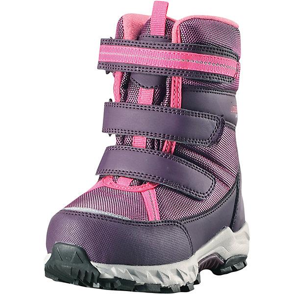 Сапоги Boulder Lassietec LassieОбувь<br>Характеристики товара:<br><br>• цвет: розовый;<br>• внешний материал: полиэстер, полиуретан, текстиль;<br>• внутренний материал: искусственный мех;<br>• стелька: искусственный мех;<br>• подошва: термопластиная резина;<br>• сезон: зима;<br>• температурный режим: от 0 до -30С;<br>• застежка: три ремешка на липучках;<br>• водонепроницаемая зимняя обувь; <br>• гибкая легкая подошва из филона/резины;<br>• подкладка из искусственного меха;<br>• съемные стельки; <br>• светоотражающие детали;<br>• страна бренда: Финляндия;<br>• страна изготовитель: Китай;<br><br>Пара отличных зимних ботинок – вот без чего просто не обойтись в холодное время года! Эти стильные водонепроницаемые детские зимние ботинки изготовлены из текстиля и синтетического материала, прочного и простого в уходе. Благодаря мягкой подкладке из искусственного меха во время прогулок на свежем воздухе ножкам будет тепло и сухо. Регулируемая застежка на липучке облегчает обувание и обеспечивает хорошую фиксацию на ноге. Светоотражающие детали.<br><br>Сапоги Boulder Lassietec Lassie (Ласси) можно купить в нашем интернет-магазине.<br>Ширина мм: 257; Глубина мм: 180; Высота мм: 130; Вес г: 420; Цвет: розовый; Возраст от месяцев: 96; Возраст до месяцев: 108; Пол: Женский; Возраст: Детский; Размер: 24,23,26,25,35,22,34,33,32,31,30,29,28,27; SKU: 6901015;