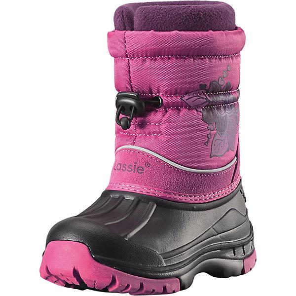 Сапоги Coldwell LassieОбувь для девочек<br>Характеристики товара:<br><br>• цвет: розовый;<br>• внешний материал: полиэстер, полиуретан, резина;<br>• внутренний материал: искусственный мех;<br>• стелька: искусственный мех;<br>• подошва: термопластиная резина;<br>• сезон: зима;<br>• температурный режим: от 0 до -30С;<br>• шнурок-утяжка со стопером;<br>• теплые зимние сапоги; <br>• водоотталкивающая зимняя обувь с водонепроницаемыми галошами;<br>• легкая полиуретановая подошва для качественной теплоизоляции<br>• подкладка из искусственного меха;<br>• съемный внутренний сапожок; <br>• светоотражающие детали;<br>• страна бренда: Финляндия;<br>• страна изготовитель: Китай;<br><br>Замечательная обувь для снежных деньков! Благодаря водоотталкивающему материалу и водонепроницаемой галоше ножкам будет всегда сухо, а защита от снега на голенище ни за что не пропустит снег внутрь. Съемный внутренний носок обеспечивает ножкам тепло, сухость и комфорт.<br><br>Сапоги Coldwell Lassie (Ласси) можно купить в нашем интернет-магазине.<br><br>Ширина мм: 257<br>Глубина мм: 180<br>Высота мм: 130<br>Вес г: 420<br>Цвет: розовый<br>Возраст от месяцев: 21<br>Возраст до месяцев: 24<br>Пол: Женский<br>Возраст: Детский<br>Размер: 35,24,34,33,32,31,30,29,28,27,26,25<br>SKU: 6901146