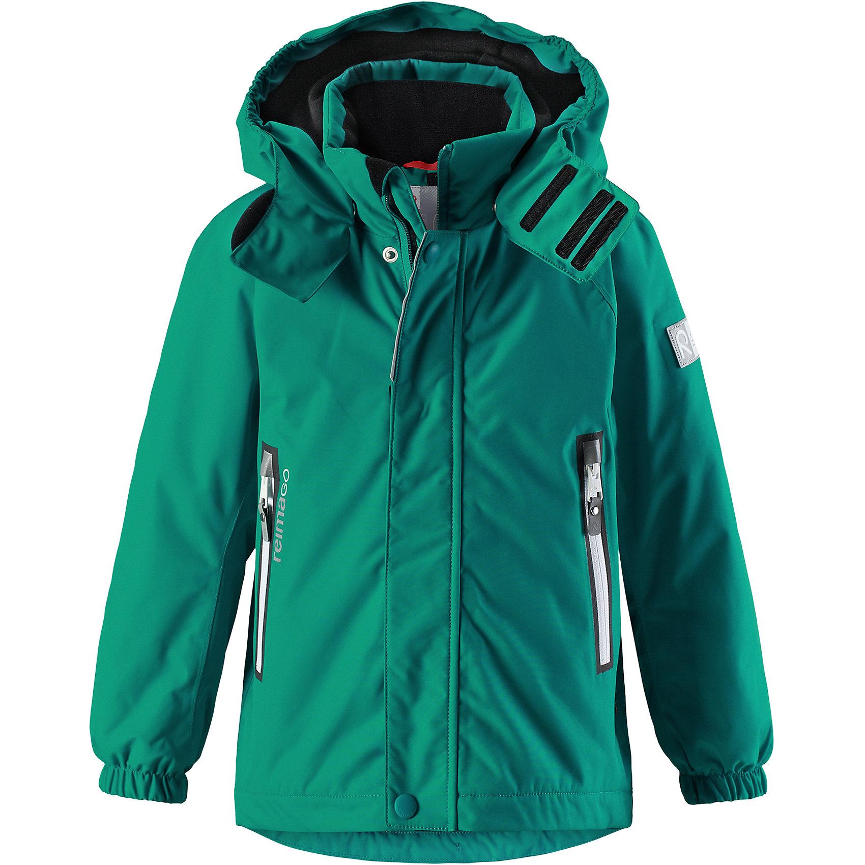 Куртка Chant Reimatec® ReimaЗимние куртки<br>Характеристики товара:<br><br>• цвет: зеленый;<br>• состав: 100% полиэстер;<br>• утеплитель: 160 г/м2;<br>• сезон: зима;<br>• температурный режим: от 0 до -20С;<br>• водонепроницаемость: 15000 мм;<br>• воздухопроницаемость: 7000 мм;<br>• износостойкость: 40000 циклов (тест Мартиндейла);<br>• водо и ветронепроницаемый, дышащий и грязеотталкивающий материал;<br>• все швы проклеены и водонепроницаемы;<br>• безопасный съемный  и регулируемый капюшон на кнопках;<br>• застежка: молния с дополнительной планкой на кнопках;<br>• защита подбородка от защемления;<br>• гладкая подкладка из полиэстера;<br>• эластичные манжеты;<br>• регулируемый подол;<br>• внутренний нагрудный карман;<br>• два кармана на молнии;<br>• карман с креплением для сенсора ReimaGO®;<br>• светоотражающие элементы;<br>• система кнопок Play Layers® к этой куртке можно присоединять одежду промежуточного слоя Reima®;<br>• страна бренда: Финляндия;<br>• страна производства: Китай.<br><br>Зимняя куртка Reimatec® изготовлена из водо и ветронепроницаемого, дышащего материала, который эффективно отталкивает грязь. Все швы проклеены, водонепроницаемы. В этой куртке прямого покроя подол при необходимости легко регулируется, что позволяет подогнать куртку точно по фигуре. <br><br>Съемный и регулируемый капюшон защищает от пронизывающего ветра и проливного дождя, а еще он безопасен во время игр на свежем воздухе. В куртке предусмотрены два кармана на молнии, внутренний нагрудный карман, карман для сенсора ReimaGO® и множество светоотражающих деталей. Эта куртка очень проста в уходе, кроме того, ее можно сушить в стиральной машине.<br><br>Куртка Chant Reimatec® Reima можно купить в нашем интернет-магазине.<br><br>Ширина мм: 356<br>Глубина мм: 10<br>Высота мм: 245<br>Вес г: 519<br>Цвет: зеленый<br>Возраст от месяцев: 108<br>Возраст до месяцев: 120<br>Пол: Унисекс<br>Возраст: Детский<br>Размер: 140,104,110,116,122,128,134<br>SKU: 6901225