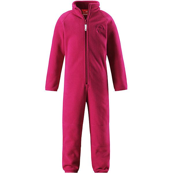 Флисовый комбинезон Reima Kraz для девочкиОдежда<br>Характеристики товара:<br><br>• цвет: розовый;<br>• состав: 100% полиэстер;<br>• сезон: зима;<br>• застежка: молния по всей длине с защитой подбородка;<br>• быстро сохнут и сохраняют тепло;<br>• выводит влагу в верхние слои одежды;<br>• эластичные манжеты на рукавах и брючинах;<br>• эластичная сборка сзади;<br>• страна бренда: Финляндия;<br>• страна изготовитель: Китай.<br><br>Мягкий и легкий полярный флис – это теплый и при этом быстросохнущий материал, который отводит влагу и не парит даже во время активных игр. Флисовый комбинезон очень легко надевать: молния во всю длину облегчает надевание, а эластичная регулируемая талия плотно держит брюки на поясе. Это лучший вариант для поддевания под верхнюю одежду.<br><br>Флисовый комбинезон Reima Kraz от финского бренда Reima (Рейма) можно купить в нашем интернет-магазине.<br><br>Ширина мм: 190<br>Глубина мм: 74<br>Высота мм: 229<br>Вес г: 236<br>Цвет: розовый<br>Возраст от месяцев: 84<br>Возраст до месяцев: 96<br>Пол: Женский<br>Возраст: Детский<br>Размер: 128,92,98,104,110,116,122<br>SKU: 6901933