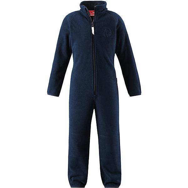 Флисовый комбинезон Reima Kraz для мальчикаОдежда<br>Характеристики товара:<br><br>• цвет: синий;<br>• состав: 100% полиэстер;<br>• сезон: зима;<br>• застежка: молния по всей длине с защитой подбородка;<br>• быстро сохнут и сохраняют тепло;<br>• выводит влагу в верхние слои одежды;<br>• эластичные манжеты на рукавах и брючинах;<br>• эластичная сборка сзади;<br>• страна бренда: Финляндия;<br>• страна изготовитель: Китай.<br><br>Мягкий и легкий полярный флис – это теплый и при этом быстросохнущий материал, который отводит влагу и не парит даже во время активных игр. Флисовый комбинезон очень легко надевать: молния во всю длину облегчает надевание, а эластичная регулируемая талия плотно держит брюки на поясе. Это лучший вариант для поддевания под верхнюю одежду.<br><br>Флисовый комбинезон Reima Kraz от финского бренда Reima (Рейма) можно купить в нашем интернет-магазине.<br><br>Ширина мм: 190<br>Глубина мм: 74<br>Высота мм: 229<br>Вес г: 236<br>Цвет: синий<br>Возраст от месяцев: 18<br>Возраст до месяцев: 24<br>Пол: Мужской<br>Возраст: Детский<br>Размер: 92,128,122,116,110,104,98<br>SKU: 6901941