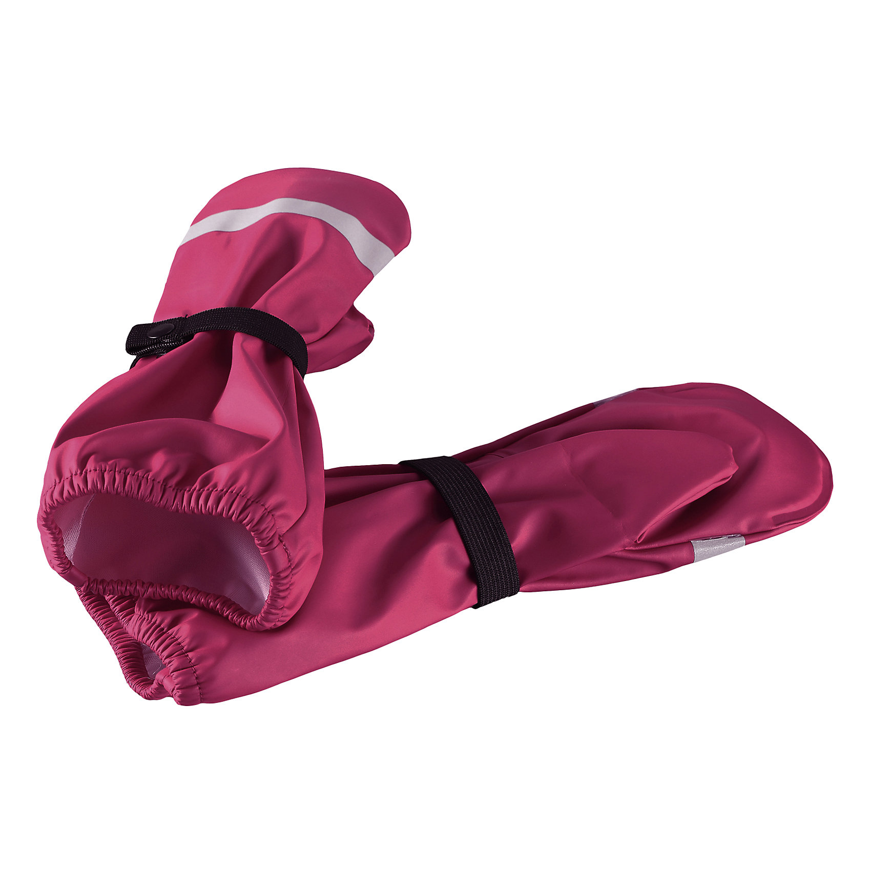 Дождевые варежки Reima KuraПерчатки, варежки<br>Характеристики товара:<br><br>• цвет: розовый;<br>• состав: 100% полиэстер;<br>• сезон: демисезон;<br>• непромокаемые варежки для дождливой погоды;<br>• запаянные швы, не пропускающие влагу;<br>• эластичный материал;<br>• без подкладки;<br>• без ПВХ;<br>• светоотражающие детали;<br>• страна бренда: Финляндия;<br>• страна изготовитель: Китай.<br><br>Непромокаемые варежки для малышей станут отличным решением, если крохе вдруг понадобится исследовать лужи на четвереньках. Эта демисезонная модель без подкладки изготовлена из эластичного и безопасного материала, не содержащего ПВХ. Благодаря запаянным швам, варежки останутся сухими.<br><br>Дождевые варежки Reima Kura от финского бренда Reima (Рейма) можно купить в нашем интернет-магазине.<br><br>Ширина мм: 162<br>Глубина мм: 171<br>Высота мм: 55<br>Вес г: 119<br>Цвет: розовый<br>Возраст от месяцев: 72<br>Возраст до месяцев: 96<br>Пол: Унисекс<br>Возраст: Детский<br>Размер: 5,1,2,3,4<br>SKU: 6902047