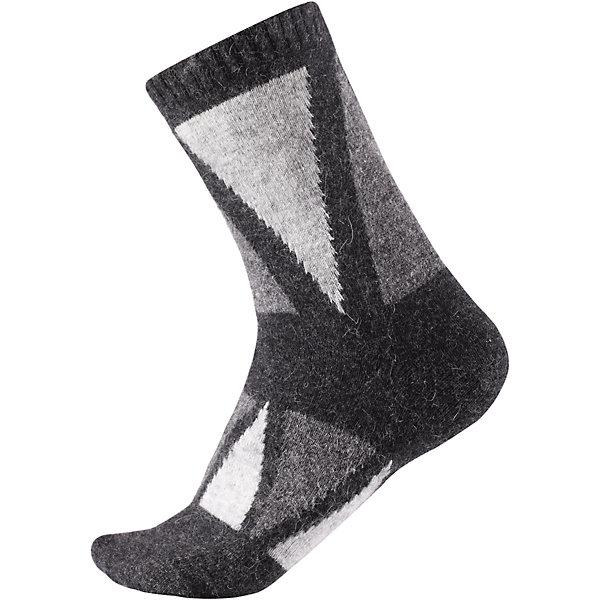 Носки Reima SavoОдежда<br>Характеристики товара:<br><br>• цвет: серый;<br>• состав: 36% вискоза, 34% полиамид, 20% шерсть, 7% полиэстер, 3% эластан;<br>• сезон: зима;<br>• легкая ткань без вставок;<br>• быстро сохнут и сохраняют тепло;<br>• благодаря теплой и мягкой ткани из смеси ангорской шерсти ноги детей всегда в тепле;<br>• страна бренда: Финляндия;<br>• страна изготовитель: Китай.<br><br>Классные и яркие длинные детские носки из шерстяного трикотажа – отличный выбор для любителей активных прогулок! Носки изготовлены из теплой и мягкой ангорской полушерсти и превосходно регулируют температуру, особенно в морозные зимние дни! Эластичный шерстяной трикотаж отлично пропускает воздух и быстро сохнет, поэтому ребенку будет максимально комфортно во время веселых прогулок. Облегченная модель без усилений на подошве.<br><br>Носки Savo Reima от финского бренда Reima (Рейма) можно купить в нашем интернет-магазине.<br>Ширина мм: 87; Глубина мм: 10; Высота мм: 105; Вес г: 115; Цвет: серый; Возраст от месяцев: 168; Возраст до месяцев: 1188; Пол: Унисекс; Возраст: Детский; Размер: 34-37,22-25,26-29,30-33; SKU: 6902078;