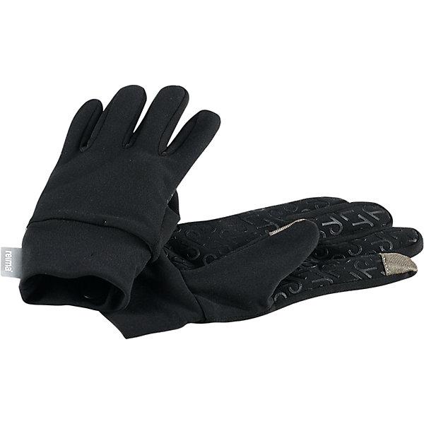 Перчатки Reima ZinkeniteПерчатки, варежки<br>Характеристики товара:<br><br>• цвет: черный;<br>• состав: 85% полиэстер, 15% эластан;<br>• сезон: демисезон;<br>• силиконовый принт, предотвращающий скольжение;<br>• мягкий и теплый материал с внутренней стороны для максимального комфорта;<br>• простой в уходе материал быстро сохнет;<br>• специальный материал обеспечивает дополнительный комфорт;<br>• легкий стиль, без подкладки;<br>• подходит для использования touch screen устройств, не снимая перчаток<br>• страна бренда: Финляндия;<br>• страна изготовитель: Китай.<br><br>Высококачественные перчатки для детей и подростков. Эти модные детские перчатки изготовлены из удобного, быстросохнущего и эластичного материала с мягкой и теплой ворсовой изнанкой, которая подарит рукам максимальный комфорт. Просто класс: их совсем не нужно снимать, чтобы пользоваться смартфоном! На ладонь нанесен силиконовый нескользящий рисунок.<br><br>Перчатки Zinkenite Reima от финского бренда Reima (Рейма) можно купить в нашем интернет-магазине.<br><br>Ширина мм: 162<br>Глубина мм: 171<br>Высота мм: 55<br>Вес г: 119<br>Цвет: черный<br>Возраст от месяцев: 24<br>Возраст до месяцев: 48<br>Пол: Унисекс<br>Возраст: Детский<br>Размер: 3/4,7/8,5/6<br>SKU: 6902123