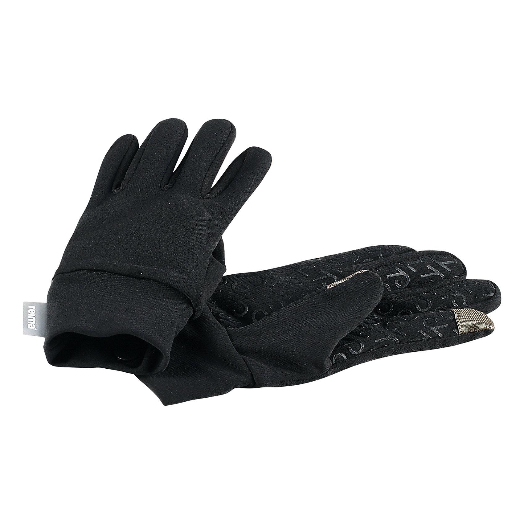 Перчатки Zinkenite ReimaПерчатки, варежки<br>Высококачественные перчатки для детей и подростков. Эти модные детские перчатки изготовлены из удобного, быстросохнущего и эластичного материала с мягкой и теплой ворсовой изнанкой, которая подарит рукам максимальный комфорт. Просто класс: их совсем не нужно снимать, чтобы пользоваться смартфоном! На ладонь нанесен силиконовый нескользящий рисунок!<br>Состав:<br>85% Полиэстер 15% Эластан<br><br>Ширина мм: 162<br>Глубина мм: 171<br>Высота мм: 55<br>Вес г: 119<br>Цвет: черный<br>Возраст от месяцев: 24<br>Возраст до месяцев: 48<br>Пол: Унисекс<br>Возраст: Детский<br>Размер: 3/4,7/8,5/6<br>SKU: 6902123