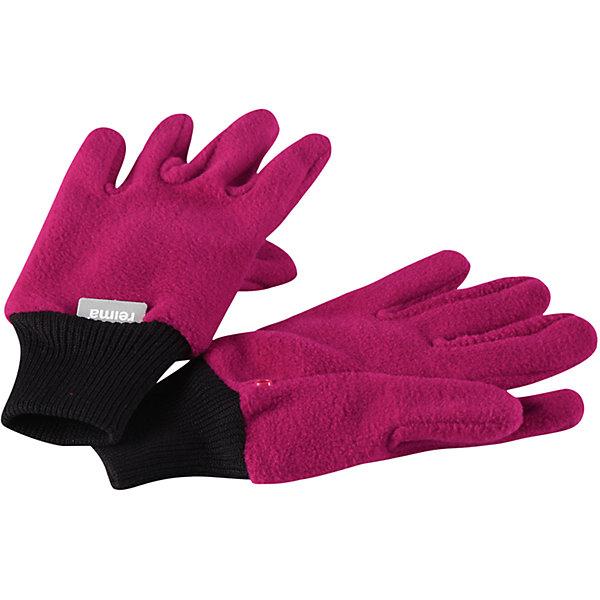 Флисовые перчатки Reima Osk для девочкиПерчатки, варежки<br>Характеристики товара:<br><br>• цвет: розовый;<br>• состав: 100% полиэстер;<br>• сезон: зима;<br>• выводят влагу наружу;<br>• дышащий, теплый и быстросохнущий флис;<br>• кнопки, чтобы пристегивать перчатки друг у другу на время хранения;<br>• легкий стиль, без подкладки;<br>• эластичный кант на манжетах;<br>• страна бренда: Финляндия;<br>• страна изготовитель: Китай.<br><br>Мягкие и удобные детские перчатки из флиса. Теплый, дышащий и быстросохнущий флисовый материал отводит влагу в верхние слои. Облегченная модель без подкладки превосходно подойдет для поддевания под непромокаемые варежки в морозную погоду. Удобная резинка. Снабжены кнопкой и пристегиваются друг к другу для хранения.<br><br>Перчатки Osk Reima от финского бренда Reima (Рейма) можно купить в нашем интернет-магазине.<br><br>Ширина мм: 162<br>Глубина мм: 171<br>Высота мм: 55<br>Вес г: 119<br>Цвет: розовый<br>Возраст от месяцев: 120<br>Возраст до месяцев: 144<br>Пол: Женский<br>Возраст: Детский<br>Размер: 7/8,3/4,5/6<br>SKU: 6902139