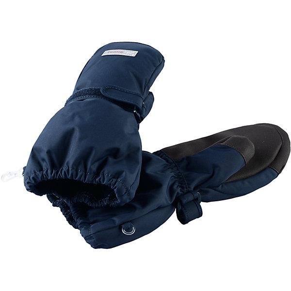 Варежки Reimatec® Reima Ote для мальчикаВерхняя одежда<br>Характеристики товара:<br><br>• цвет: синий;<br>• состав: 100% полиэстер;<br>• подкладка: 100% полиэстер, флис;<br>• утеплитель: 170 г/м2;<br>• сезон: зима;<br>• температурный режим: от 0 до -30;<br>• водонепроницаемость: 10000/15000 мм;<br>• воздухопроницаемость: 7000 мм;<br>• износостойкость: 40000 циклов (тест Мартиндейла);<br>• полная водонепроницаемость и дышащая способность благодаря вставке Hipora;<br>• водоотталкивающий, ветронепроницаемый и грязеотталкивающий материал;<br>• прочный материал;<br>• водонепроницаемая вставка;<br>• усиленные накладки на ладонях и больших пальцах;<br>• сплошная подкладка: мягкий теплый флис;<br>• застежка на липучке спереди;<br>• утеплитель PrimaLoft®;<br>• светоотражающие детали;<br>• страна бренда: Финляндия;<br>• страна изготовитель: Китай.<br><br>Зимние варежки Reimatec®+ для малышей и детей постарше снабжены водонепроницаемой вставкой Hipora, а также усилениями на ладони, большом пальце и по верху варежки. Во время веселых зимних прогулок пальчикам будет тепло и сухо весь день. <br><br>Варежки подбиты невероятно легким, но при этом водонепроницаемым утеплителем PrimaLoft®! Благодаря высокотехнологичным материалам – утеплителю PrimaLoft® и ткани Reimatec® Duraplus – варежки хорошо пропускают воздух, обеспечивая максимальный комфорт в любых условиях.<br><br>Варежки Ote Reimatec® Reima от финского бренда Reima (Рейма) можно купить в нашем интернет-магазине.<br><br>Ширина мм: 162<br>Глубина мм: 171<br>Высота мм: 55<br>Вес г: 119<br>Цвет: синий<br>Возраст от месяцев: 96<br>Возраст до месяцев: 120<br>Пол: Мужской<br>Возраст: Детский<br>Размер: 6,5,4,3,2<br>SKU: 6902379