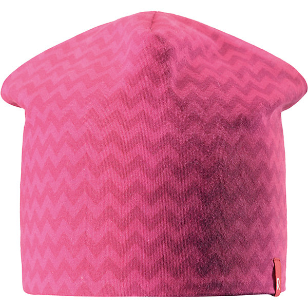 Шапка Reima HirviШапки и шарфы<br>Характеристики товара:<br><br>• цвет: розовый;<br>• состав: 61% хлопок, 33% полиэстер, 6% эластан;<br>• сезон: демисезон;<br>• температурный режим: от +5 до +15С;<br>• двухсторонняя шапка;<br>• быстросохнущий материал Play jersey, приятный на ощупь;<br>• выводит влагу наружу;<br>• мягкий хлопчатобумажный материал;<br>• фактор защиты от ультрафиолета 40+;<br>• сплошная подкладка: материал Play jersey;<br>• логотип Reima® сбоку;<br>• страна бренда: Финляндия;<br>• страна изготовитель: Китай.<br><br>Легкая двусторонняя шапка для малышей и детей постарше свежей расцветки с УФ-защитой 40+. Шапка изготовлена из дышащего и быстросохнущего материла Play Jersey®, эффективно выводящего влагу с кожи. Озорная двухсторонняя шапка меняет цвет в одно мгновение.<br><br>Шапку Hirvi Reima от финского бренда Reima (Рейма) можно купить в нашем интернет-магазине.<br>Ширина мм: 89; Глубина мм: 117; Высота мм: 44; Вес г: 155; Цвет: розовый; Возраст от месяцев: 36; Возраст до месяцев: 48; Пол: Унисекс; Возраст: Детский; Размер: 54-56,50-52; SKU: 6902474;