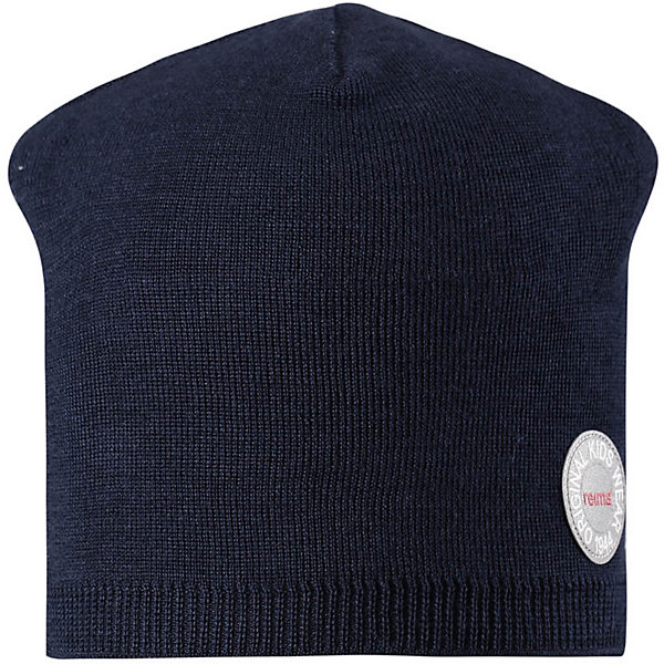 Шапка Reima Nebula для мальчикаШапки и шарфы<br>Характеристики товара:<br><br>• цвет: темно-синий;<br>• состав: 50% шерсть, 50% полиакрил;<br>• сезон: зима;<br>• температурный режим: от +5 до -10С;<br>• шерсть идеально поддерживает температуру;<br>• мягкая и теплая ткань из смеси шерсти;<br>• ветронепроницаемые вставки в области ушей;<br>• частичная подкладка;<br>• логотип Reima® спереди;<br>• страна бренда: Финляндия;<br>• страна изготовитель: Китай.<br><br>Детская шапка из теплого шерстяного трикотажа. Материал превосходно регулирует температуру и хорошо согревает голову. Ветронепроницаемые вставки и полуподкладка из мягкого и дышащего вязаного хлопка. Сплошная жаккардовая узорная вязка. Теплый, удобный, эластичный материал.<br><br>Шапку Nebula Reima от финского бренда Reima (Рейма) можно купить в нашем интернет-магазине.<br>Ширина мм: 89; Глубина мм: 117; Высота мм: 44; Вес г: 155; Цвет: синий; Возраст от месяцев: 36; Возраст до месяцев: 48; Пол: Мужской; Возраст: Детский; Размер: 50,56,54,52; SKU: 6902505;