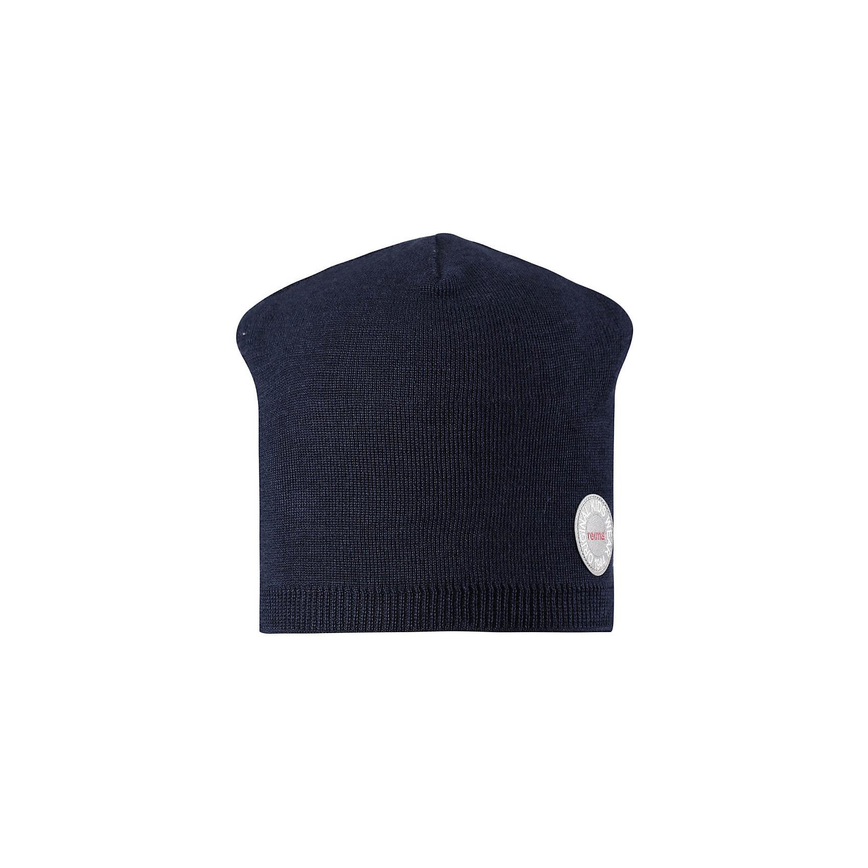 Шапка Reima NebulaГоловные уборы<br>Характеристики товара:<br><br>• цвет: темно-синий;<br>• состав: 50% шерсть, 50% полиакрил;<br>• сезон: зима;<br>• температурный режим: от +5 до -10С;<br>• шерсть идеально поддерживает температуру;<br>• мягкая и теплая ткань из смеси шерсти;<br>• ветронепроницаемые вставки в области ушей;<br>• частичная подкладка;<br>• логотип Reima® спереди;<br>• страна бренда: Финляндия;<br>• страна изготовитель: Китай.<br><br>Детская шапка из теплого шерстяного трикотажа. Материал превосходно регулирует температуру и хорошо согревает голову. Ветронепроницаемые вставки и полуподкладка из мягкого и дышащего вязаного хлопка. Сплошная жаккардовая узорная вязка. Теплый, удобный, эластичный материал.<br><br>Шапку Nebula Reima от финского бренда Reima (Рейма) можно купить в нашем интернет-магазине.<br><br>Ширина мм: 89<br>Глубина мм: 117<br>Высота мм: 44<br>Вес г: 155<br>Цвет: синий<br>Возраст от месяцев: 84<br>Возраст до месяцев: 144<br>Пол: Унисекс<br>Возраст: Детский<br>Размер: 56,50,52,54<br>SKU: 6902505