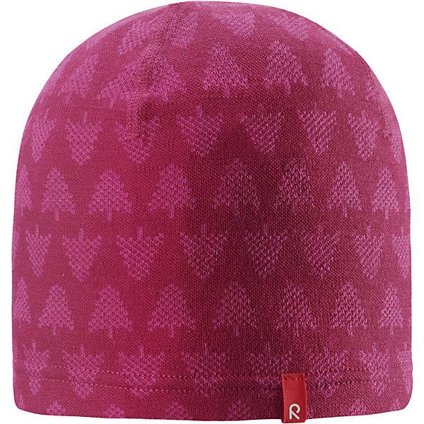 Шапка Reima DimmaШапки и шарфы<br>Характеристики товара:<br><br>• цвет: розовый;<br>• состав: 80% шерсть, 20% полиакрил;<br>• сезон: демисезон, зима;<br>• температурный режим: от +15 до -20С;<br>• шерсть идеально поддерживает температуру;<br>• мягкая и теплая ткань из смеси шерсти;<br>• легкий стиль, без подкладки;<br>• логотип Reima® спереди;<br>• страна бренда: Финляндия;<br>• страна изготовитель: Китай.<br><br>Очаровательная детская шапка сшита из красивого шерстяного жаккардового интерлока. Эту облегченную модель без подкладки можно носить осенью, а если поддеть под нее шапку-шлем, то она согреет и в зимние холода. Сочетайте с шарфом Ellivaara из той же серии.<br><br>Шапку Dimma Reima от финского бренда Reima (Рейма) можно купить в нашем интернет-магазине.<br>Ширина мм: 89; Глубина мм: 117; Высота мм: 44; Вес г: 155; Цвет: розовый; Возраст от месяцев: 36; Возраст до месяцев: 48; Пол: Женский; Возраст: Детский; Размер: 50-52,54-56; SKU: 6902520;