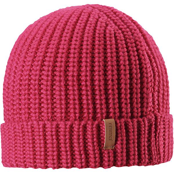 Шапка Reima Vanttuu для девочкиГоловные уборы<br>Характеристики товара:<br><br>• цвет: розовый;<br>• состав: 50% шерсть, 50% полиакрил;<br>• сезон: демисезон;<br>• температурный режим: от +10 до 0С;<br>• шерсть идеально поддерживает температуру;<br>• мягкая и теплая ткань из смеси шерсти;<br>• легкий стиль, без подкладки;<br>• логотип Reima® спереди;<br>• страна бренда: Финляндия;<br>• страна изготовитель: Китай.<br><br>Детская шапка из теплого полушерстяного трикотажа. Шерсть – превосходный терморегулятор. Облегченная модель без подкладки. Оригинальный структурный узор дополняет образ.<br><br>Шапку Vanttuu Reima от финского бренда Reima (Рейма) можно купить в нашем интернет-магазине.<br><br>Ширина мм: 89<br>Глубина мм: 117<br>Высота мм: 44<br>Вес г: 155<br>Цвет: розовый<br>Возраст от месяцев: 72<br>Возраст до месяцев: 84<br>Пол: Женский<br>Возраст: Детский<br>Размер: 54-56,50-52<br>SKU: 6902529