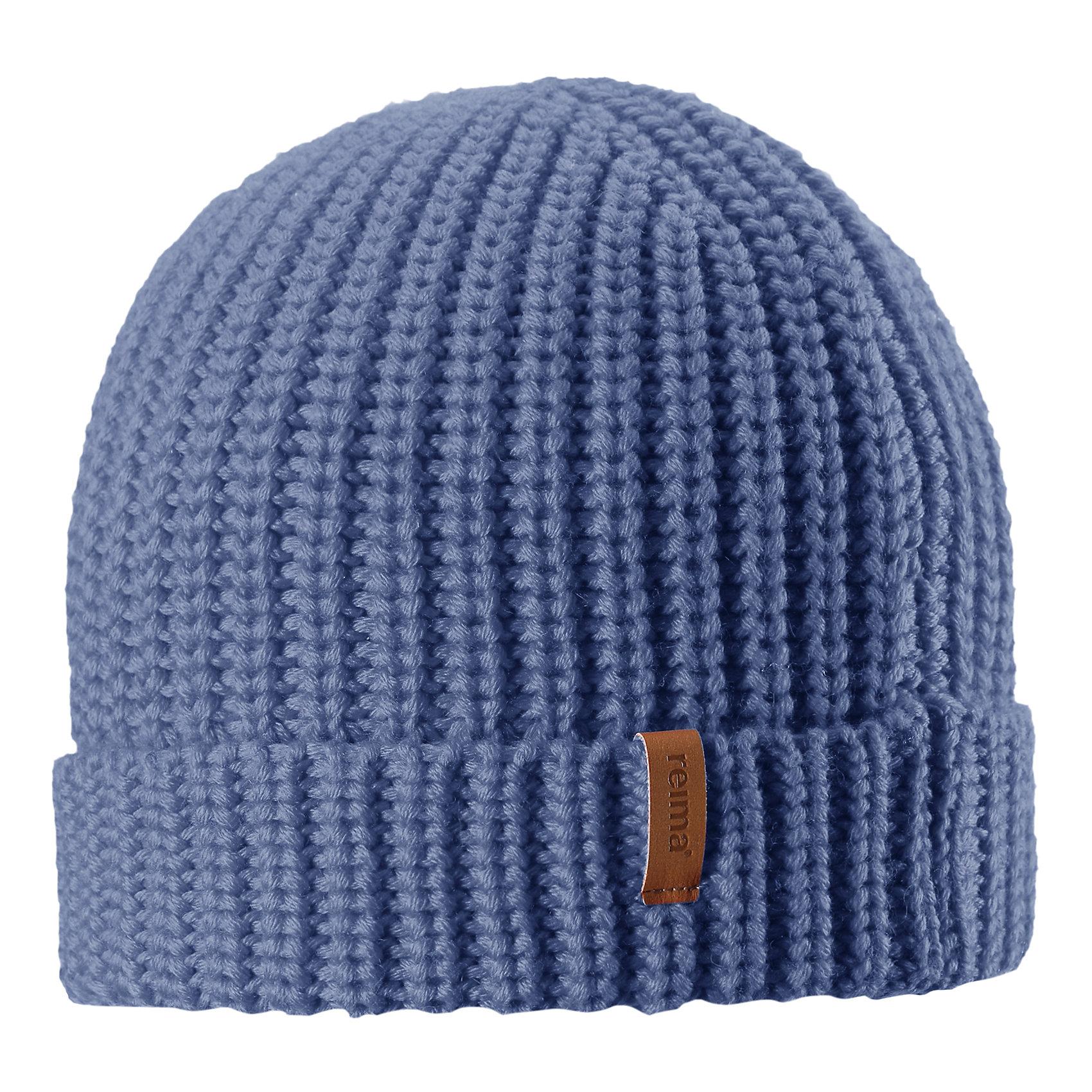 Шапка Vanttuu ReimaГоловные уборы<br>Детская шапка из теплого полушерстяного трикотажа. Шерсть – превосходный терморегулятор. Облегченная модель без подкладки. Оригинальный структурный узор дополняет образ.<br>Состав:<br>50% Шерсть, 50% Полиакрил<br><br>Ширина мм: 89<br>Глубина мм: 117<br>Высота мм: 44<br>Вес г: 155<br>Цвет: синий<br>Возраст от месяцев: 72<br>Возраст до месяцев: 84<br>Пол: Унисекс<br>Возраст: Детский<br>Размер: 54-56,50-52<br>SKU: 6902532
