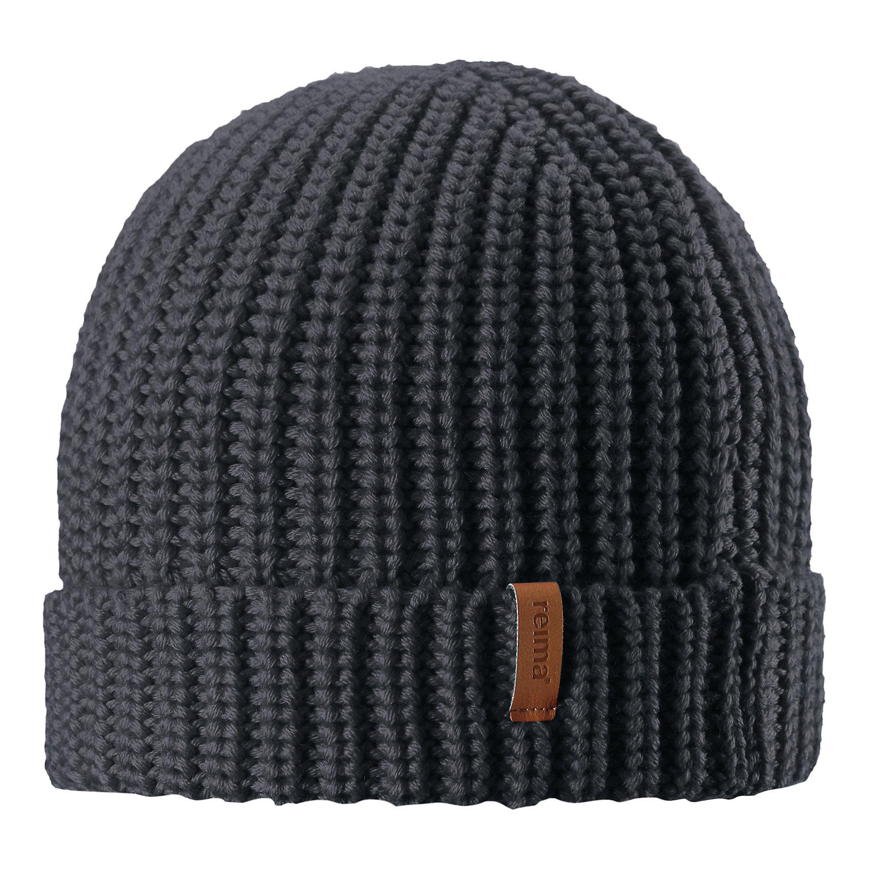 Шапка Reima VanttuuГоловные уборы<br>Характеристики товара:<br><br>• цвет: темно-синий;<br>• состав: 50% шерсть, 50% полиакрил;<br>• сезон: демисезон;<br>• температурный режим: от +10 до 0С;<br>• шерсть идеально поддерживает температуру;<br>• мягкая и теплая ткань из смеси шерсти;<br>• легкий стиль, без подкладки;<br>• логотип Reima® спереди;<br>• страна бренда: Финляндия;<br>• страна изготовитель: Китай.<br><br>Детская шапка из теплого полушерстяного трикотажа. Шерсть – превосходный терморегулятор. Облегченная модель без подкладки. Оригинальный структурный узор дополняет образ.<br><br>Шапку Vanttuu Reima от финского бренда Reima (Рейма) можно купить в нашем интернет-магазине.<br><br>Ширина мм: 89<br>Глубина мм: 117<br>Высота мм: 44<br>Вес г: 155<br>Цвет: серый<br>Возраст от месяцев: 72<br>Возраст до месяцев: 84<br>Пол: Унисекс<br>Возраст: Детский<br>Размер: 54-56,50-52<br>SKU: 6902535