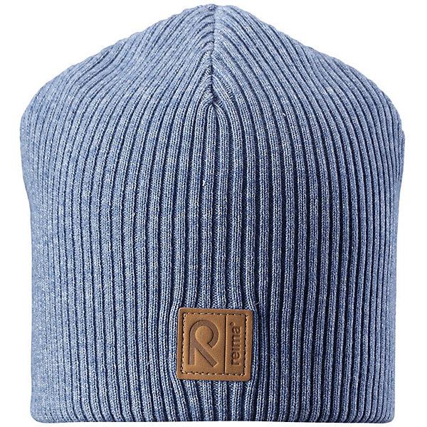 Шапка Reima Kataja для мальчикаШапки и шарфы<br>Характеристики товара:<br><br>• цвет: голубой;<br>• состав: 85% хлопок, 15% шерсть;<br>• сезон: демисезон;<br>• температурный режим: от +5 до +15С;<br>• мягкий и удобный трикотаж из смеси хлопка и шерсти;<br>• ветронепроницаемые вставки в области ушей;<br>• логотип Reima® спереди;<br>• страна бренда: Финляндия;<br>• страна изготовитель: Китай.<br><br>Детская базовая шапка сшита из удобного трикотажа из смеси хлопка и шерсти. Для пошива использован теплый, эластичный и дышащий материал. Снабжена ветронепроницаемыми вставками в области ушей.<br><br>Шапку Kataja Reima от финского бренда Reima (Рейма) можно купить в нашем интернет-магазине.<br>Ширина мм: 89; Глубина мм: 117; Высота мм: 44; Вес г: 155; Цвет: синий; Возраст от месяцев: 36; Возраст до месяцев: 48; Пол: Мужской; Возраст: Детский; Размер: 50-52,54-56; SKU: 6902544;