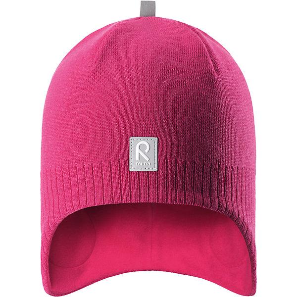 Шапка Reima LumulaГоловные уборы<br>Характеристики товара:<br><br>• цвет: розовый;<br>• состав: 100% шерсть;<br>• подкладка: 100% полиэстер, флис;<br>• без дополнительного утепления;<br>• сезон: зима;<br>• температурный режим: от 0 до -20С;<br>• мягкая ткань из мериносовой шерсти для поддержания идеальной температуры тела;<br>• ветронепроницаемые вставки в области ушей;<br>• сплошная подкладка: мягкий теплый флис;<br>• логотип Reima® спереди;<br>• страна бренда: Финляндия;<br>• страна изготовитель: Китай.<br><br>Детская шерстяная шапка хорошо защищает уши. Эта удобная модель хорошо закрывает уши ребенка и защищает лоб даже без завязок. Стильная шапка из 100% шерсти подшита удобной теплой флисовой подкладкой из полиэстера. Материал быстро сохнет и обладает влагоотводящими свойствами. Ветронепроницаемые вставки между верхним слоем и подкладкой обеспечивают ушкам дополнительную защиту от ветра.<br><br>Шапку Lumula Reima от финского бренда Reima (Рейма) можно купить в нашем интернет-магазине.<br><br>Ширина мм: 89<br>Глубина мм: 117<br>Высота мм: 44<br>Вес г: 155<br>Цвет: розовый<br>Возраст от месяцев: 36<br>Возраст до месяцев: 48<br>Пол: Унисекс<br>Возраст: Детский<br>Размер: 50,56,54,52<br>SKU: 6902553