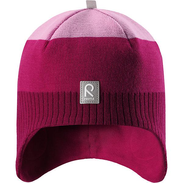 Шапка Reima Lumula для девочкиШапки и шарфы<br>Характеристики товара:<br><br>• цвет: розовый;<br>• состав: 100% шерсть;<br>• подкладка: 100% полиэстер, флис;<br>• без дополнительного утепления;<br>• сезон: зима;<br>• температурный режим: от 0 до -20С;<br>• мягкая ткань из мериносовой шерсти для поддержания идеальной температуры тела;<br>• ветронепроницаемые вставки в области ушей;<br>• сплошная подкладка: мягкий теплый флис;<br>• логотип Reima® спереди;<br>• страна бренда: Финляндия;<br>• страна изготовитель: Китай.<br><br>Детская шерстяная шапка хорошо защищает уши. Эта удобная модель хорошо закрывает уши ребенка и защищает лоб даже без завязок. Стильная шапка из 100% шерсти подшита удобной теплой флисовой подкладкой из полиэстера. Материал быстро сохнет и обладает влагоотводящими свойствами. Ветронепроницаемые вставки между верхним слоем и подкладкой обеспечивают ушкам дополнительную защиту от ветра.<br><br>Шапку Lumula Reima от финского бренда Reima (Рейма) можно купить в нашем интернет-магазине.<br>Ширина мм: 89; Глубина мм: 117; Высота мм: 44; Вес г: 155; Цвет: розовый; Возраст от месяцев: 36; Возраст до месяцев: 48; Пол: Женский; Возраст: Детский; Размер: 50,56,54,52; SKU: 6902558;