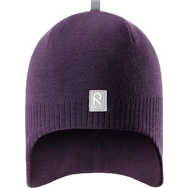 Шапка Reima Lumula для девочкиШапки и шарфы<br>Характеристики товара:<br><br>• цвет: фиолетовый;<br>• состав: 100% шерсть;<br>• подкладка: 100% полиэстер, флис;<br>• без дополнительного утепления;<br>• сезон: зима;<br>• температурный режим: от 0 до -20С;<br>• мягкая ткань из мериносовой шерсти для поддержания идеальной температуры тела;<br>• ветронепроницаемые вставки в области ушей;<br>• сплошная подкладка: мягкий теплый флис;<br>• логотип Reima® спереди;<br>• страна бренда: Финляндия;<br>• страна изготовитель: Китай.<br><br>Детская шерстяная шапка хорошо защищает уши. Эта удобная модель хорошо закрывает уши ребенка и защищает лоб даже без завязок. Стильная шапка из 100% шерсти подшита удобной теплой флисовой подкладкой из полиэстера. Материал быстро сохнет и обладает влагоотводящими свойствами. Ветронепроницаемые вставки между верхним слоем и подкладкой обеспечивают ушкам дополнительную защиту от ветра.<br><br>Шапку Lumula Reima от финского бренда Reima (Рейма) можно купить в нашем интернет-магазине.<br>Ширина мм: 89; Глубина мм: 117; Высота мм: 44; Вес г: 155; Цвет: лиловый; Возраст от месяцев: 36; Возраст до месяцев: 48; Пол: Женский; Возраст: Детский; Размер: 50,56,54,52; SKU: 6902568;