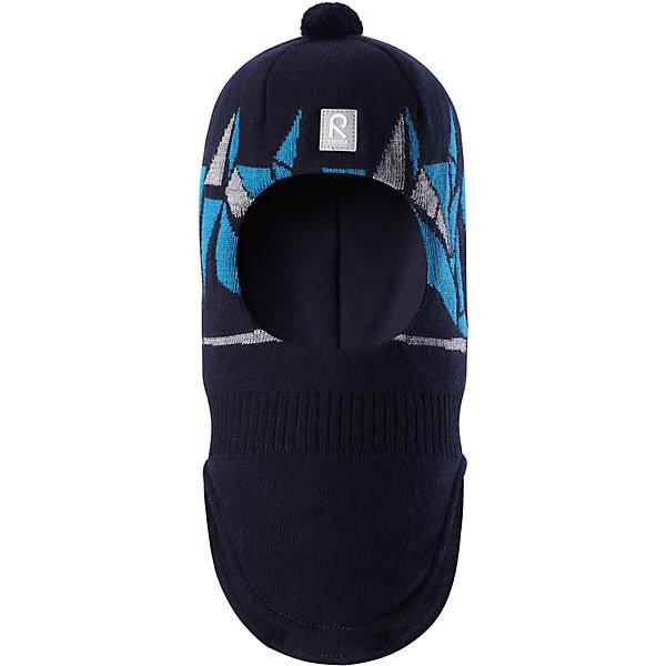 Шапка-шлем Reima Multe для мальчикаШапки и шарфы<br>Характеристики товара:<br><br>• цвет: синий/голубой;<br>• состав: 100% шерсть;<br>• подкладка: 97% хлопок, 3% эластан;<br>• утеплитель: 40 г/м2;<br>• сезон: зима;<br>• температурный режим: от 0 до -20С;<br>• мягкая ткань из мериносовой шерсти для поддержания идеальной температуры тела;<br>• ветронепроницаемые вставки в области ушей;<br>• сплошная подкладка: хлопковый трикотаж с эластаном;<br>• шапка-шлем с помпоном сверху;<br>• логотип Reima® спереди;<br>• страна бренда: Финляндия;<br>• страна изготовитель: Китай.<br><br>Мягкая и удобная шапка-шлем для малышей превосходно согреет в зимний день. Она сделана из мягкой мериносовой шерсти, которая превосходно регулирует температуру. Снабжена полной подкладкой из удобного джерси из смеси хлопка и эластана, легким утеплителем и ветронепроницаемыми вставками в области ушей. Сплошной жаккардовый вязаный узор и помпон на макушке.<br><br>Шапку-шлем Multe для мальчика Reima от финского бренда Reima (Рейма) можно купить в нашем интернет-магазине.<br><br>Ширина мм: 89<br>Глубина мм: 117<br>Высота мм: 44<br>Вес г: 155<br>Цвет: синий<br>Возраст от месяцев: 36<br>Возраст до месяцев: 48<br>Пол: Мужской<br>Возраст: Детский<br>Размер: 50,54,52<br>SKU: 6902639