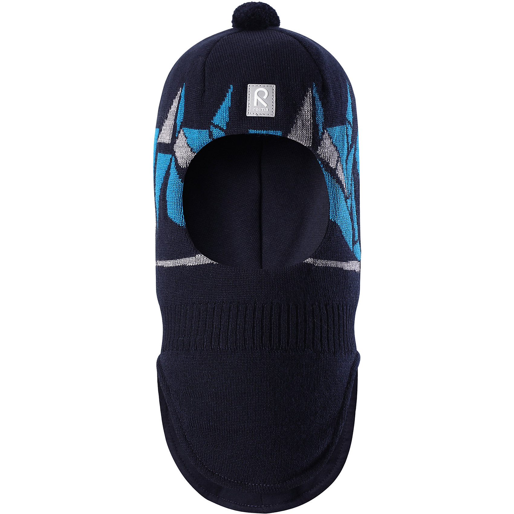 Шапка-шлем Reima Multe для мальчикаШапки и шарфы<br>Характеристики товара:<br><br>• цвет: синий/голубой;<br>• состав: 100% шерсть;<br>• подкладка: 97% хлопок, 3% эластан;<br>• утеплитель: 40 г/м2;<br>• сезон: зима;<br>• температурный режим: от 0 до -20С;<br>• мягкая ткань из мериносовой шерсти для поддержания идеальной температуры тела;<br>• ветронепроницаемые вставки в области ушей;<br>• сплошная подкладка: хлопковый трикотаж с эластаном;<br>• шапка-шлем с помпоном сверху;<br>• логотип Reima® спереди;<br>• страна бренда: Финляндия;<br>• страна изготовитель: Китай.<br><br>Мягкая и удобная шапка-шлем для малышей превосходно согреет в зимний день. Она сделана из мягкой мериносовой шерсти, которая превосходно регулирует температуру. Снабжена полной подкладкой из удобного джерси из смеси хлопка и эластана, легким утеплителем и ветронепроницаемыми вставками в области ушей. Сплошной жаккардовый вязаный узор и помпон на макушке.<br><br>Шапку-шлем Multe для мальчика Reima от финского бренда Reima (Рейма) можно купить в нашем интернет-магазине.<br><br>Ширина мм: 89<br>Глубина мм: 117<br>Высота мм: 44<br>Вес г: 155<br>Цвет: синий<br>Возраст от месяцев: 72<br>Возраст до месяцев: 84<br>Пол: Мужской<br>Возраст: Детский<br>Размер: 54,50,52<br>SKU: 6902639