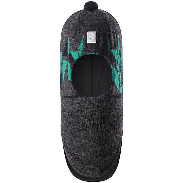 Шапка-шлем Reima Multe для мальчикаШапки и шарфы<br>Характеристики товара:<br><br>• цвет: серый/зеленый;<br>• состав: 100% шерсть;<br>• подкладка: 97% хлопок, 3% эластан;<br>• утеплитель: 40 г/м2;<br>• сезон: зима;<br>• температурный режим: от 0 до -20С;<br>• мягкая ткань из мериносовой шерсти для поддержания идеальной температуры тела;<br>• ветронепроницаемые вставки в области ушей;<br>• сплошная подкладка: хлопковый трикотаж с эластаном;<br>• шапка-шлем с помпоном сверху;<br>• логотип Reima® спереди;<br>• страна бренда: Финляндия;<br>• страна изготовитель: Китай.<br><br>Мягкая и удобная шапка-шлем для малышей превосходно согреет в зимний день. Она сделана из мягкой мериносовой шерсти, которая превосходно регулирует температуру. Снабжена полной подкладкой из удобного джерси из смеси хлопка и эластана, легким утеплителем и ветронепроницаемыми вставками в области ушей. Сплошной жаккардовый вязаный узор и помпон на макушке.<br><br>Шапку-шлем Multe для мальчика Reima от финского бренда Reima (Рейма) можно купить в нашем интернет-магазине.<br><br>Ширина мм: 89<br>Глубина мм: 117<br>Высота мм: 44<br>Вес г: 155<br>Цвет: серый<br>Возраст от месяцев: 72<br>Возраст до месяцев: 84<br>Пол: Мужской<br>Возраст: Детский<br>Размер: 54,50,52<br>SKU: 6902643