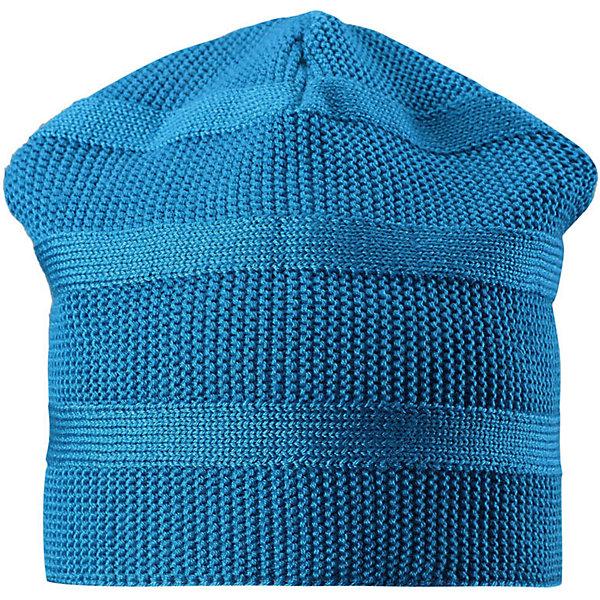 Шапка Reima Pettu для мальчикаШапки и шарфы<br>Характеристики товара:<br><br>• цвет: голубой;<br>• состав: 50% шерсть, 50% полиакрил;<br>• подкладка: 100% полиэстер, флис;<br>• без дополнительного утепления;<br>• сезон: зима;<br>• температурный режим: от 0 до -20С;<br>• шерсть идеально поддерживает температуру;<br>• ветронепроницаемые вставки в области ушей;<br>• сплошная подкладка: мягкий теплый флис;<br>• мягкая и теплая ткань из смеси шерсти;<br>• логотип Reima® сзади;<br>• страна бренда: Финляндия;<br>• страна изготовитель: Китай.<br><br>Детская шапка из теплого полушерстяного трикотажа. Шерсть – превосходный терморегулятор. Ветронепроницаемые вставки и подкладка из мягкого и дышащего флиса. Оригинальный структурный узор дополняет образ.<br><br>Шапку Pettu для мальчика Reima от финского бренда Reima (Рейма) можно купить в нашем интернет-магазине.<br><br>Ширина мм: 89<br>Глубина мм: 117<br>Высота мм: 44<br>Вес г: 155<br>Цвет: синий<br>Возраст от месяцев: 84<br>Возраст до месяцев: 144<br>Пол: Мужской<br>Возраст: Детский<br>Размер: 56,50,52,54<br>SKU: 6902833