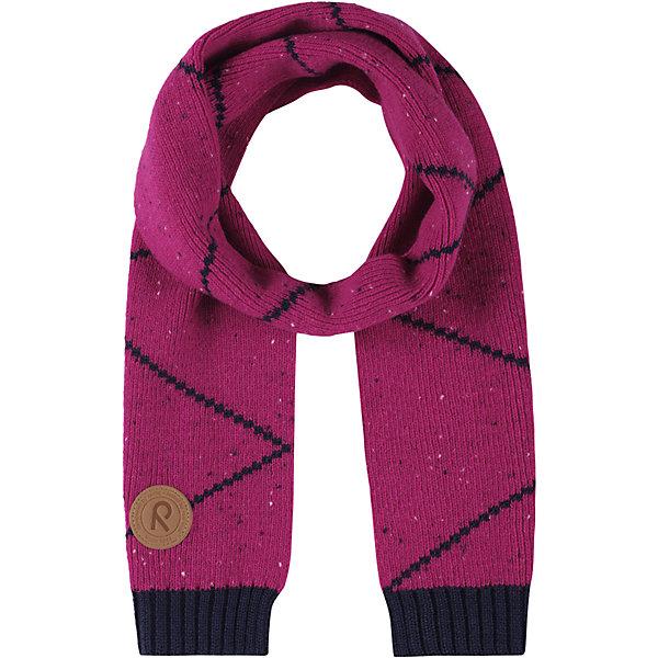 Шарф Reima Petsamo для девочкиШарфы, платки<br>Характеристики товара:<br><br>• цвет: розовый;<br>• состав: 50% шерсть, 50% полиакрил;<br>• без дополнительного утепления;<br>• сезон: зима;<br>• температурный режим: от 0 до -20С;<br>• особенности: с рисунком, вязаный;<br>• страна бренда: Финляндия;<br>• страна изготовитель: Китай.<br><br>Вязаный шарф Reima. Зимний шарф очень теплый, декорирован полосками.<br><br><br>Шарф Reima Petsamo (Рейма) можно купить в нашем интернет-магазине.<br>Ширина мм: 88; Глубина мм: 155; Высота мм: 26; Вес г: 106; Цвет: розовый; Возраст от месяцев: 48; Возраст до месяцев: 168; Пол: Женский; Возраст: Детский; Размер: one size; SKU: 6902880;