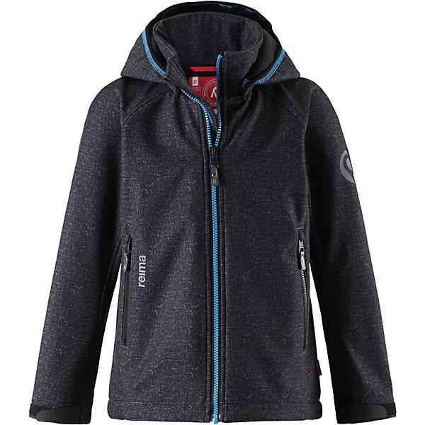 Куртка Reima Zayak для мальчикаОдежда<br>Характеристики товара:<br><br>• цвет: черный;<br>• состав: 95% полиэстер, 5% эластан;<br>• подкладка: 100% полиэстер, флис<br>• без дополнительного утепления;<br>• сезон: демисезон;<br>• температурный режим: от 0 до +15С;<br>• водонепроницаемость: 10000 мм;<br>• воздухопроницаемость: 50000 мм;<br>• куртка из материала softshell;<br>• из ветронепроницаемого материала, но изделие дышит;<br>• водоотталкивающий, ветронепроницаемый и дышащий материал;<br>• флис на оборотной стороне;<br>• безопасный, съемный капюшон;<br>• эластичная резинка на кромке капюшона;<br>• регулируемые манжеты на липучке;<br>• регулируемый обхват талии;<br>• два кармана на молнии;<br>• карман с креплением для сенсора ReimaGO®;<br>• светоотражающие детали;<br>• страна бренда: Финляндия;<br>• страна изготовитель: Китай.<br><br>Демисезонная куртка для детей и подростков изготовлена из функционального материала softshell – водоотталкивающего, ветронепроницаемого, и в то же время дышащего. Многослойный материал имеет мягкую флисовую изнанку. Регулируемая талия позволяет отрегулировать эту модель прямого кроя по фигуре, а регулируемые манжеты снабжены застежками на липучке. <br><br>В этой куртке предусмотрено множество практичных деталей: безопасный съемный капюшон м эластичной резинкой по краю, карманы на молнии и светоотражающие элементы – отличный выбор, куда бы вы не пошли. Сенсор ReimaGO будет надежно закреплен на месте благодаря специальным кнопкам.<br><br>Куртку Zayak для мальчика Reima от финского бренда Reima (Рейма) можно купить в нашем интернет-магазине.<br><br>Ширина мм: 356<br>Глубина мм: 10<br>Высота мм: 245<br>Вес г: 519<br>Цвет: серый<br>Возраст от месяцев: 108<br>Возраст до месяцев: 120<br>Пол: Мужской<br>Возраст: Детский<br>Размер: 140,134,128,122,116,110,104,164,158,152,146<br>SKU: 6902920