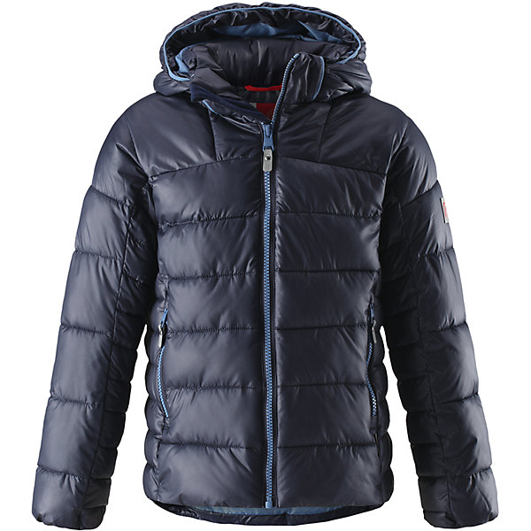 Куртка Reima Petteri для мальчикаОдежда<br>Характеристики товара:<br><br>• цвет: темно-синий;<br>• состав: 100% полиамид;<br>• подкладка: 100% полиэстер;<br>• утеплитель: 100% полиэстер;<br>• сезон: зима;<br>• температурный режим: от 0 до -20С;<br>• воздухопроницаемость: 3000 мм;<br>• пуховая куртка для подростков;<br>• водоотталкивающий, ветронепроницаемый дышащий и грязеотталкивающий материал;<br>• гладкая подкладка из полиэстера;<br>• безопасный, съемный капюшон;<br>• эластичные манжеты;<br>• два боковых кармана;<br>• светоотражающие детали;<br>• страна бренда: Финляндия;<br>• страна изготовитель: Китай.<br><br>Теплая и ветронепроницаемая зимняя куртка для детей и подростков. Куртку с гладкой подкладкой из полиэстера легко надевать и очень удобно носить. Куртка оснащена съемным капюшоном, что обеспечивает дополнительную безопасность во время активных прогулок – капюшон легко отстегивается, если случайно за что-нибудь зацепится. Два кармана на молнии для мобильного телефона и других ценных мелочей. Образ довершают практичные детали: длинная молния высокого качества и светоотражающие элементы.<br><br>Куртку Petteri для мальчика Reima от финского бренда Reima (Рейма) можно купить в нашем интернет-магазине.<br>Ширина мм: 356; Глубина мм: 10; Высота мм: 245; Вес г: 519; Цвет: синий; Возраст от месяцев: 36; Возраст до месяцев: 48; Пол: Мужской; Возраст: Детский; Размер: 104,110,116,122,158,164,128,134,140,146,152; SKU: 6903004;