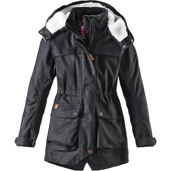 Купить Куртка Reima Pirkko для девочки, Китай, черный, 128, 122, 116, 110, 104, 164, 158, 152, 146, 140, 134, Женский
