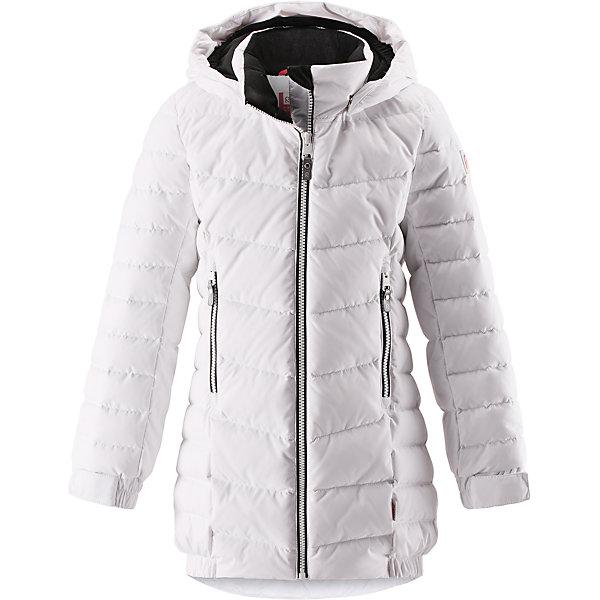 Купить Куртка Reima Juuri для девочки, Китай, белый, 104, 164, 158, 152, 146, 140, 134, 128, 122, 116, 110, Женский