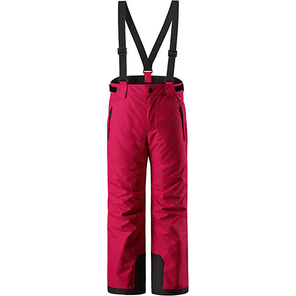 Брюки Reimatec® Reima Takeoff для девочкиБрюки и полукомбинезоны<br>Характеристики товара:<br><br>• цвет: розовый;<br>• 100% полиэстер, полиуретановое покрытие;<br>• утеплитель: 100% полиэстер 120 г/м2;<br>• сезон: зима;<br>• температурный режим: от 0 до -20С;<br>• водонепроницаемость: 12000 мм;<br>• воздухопроницаемость: 8000 мм;<br>• износостойкость: 30000 циклов (тест Мартиндейла)<br>• особенности: с подтяжками;<br>• водо- и ветронепроницаемый, дышащий и грязеотталкивающий материал;<br>• все швы проклеены и водонепроницаемы;<br>• гладкая подкладка из полиэстера;<br>• прочные усиленные вставки внизу брючин;<br>• регулируемый обхват талии;<br>• снегозащитные манжеты на штанинах;<br>• застежка: молния, пуговица;<br>• карманы на молнии;<br>• регулируемые съемные эластичные подтяжки;<br>• потайной карман для датчика ReimaGO®;<br>• светоотражающие элементы;<br>• страна бренда: Финляндия;<br>• страна производства: Китай.<br><br>Зимние брюки просто созданы для активных детей: они отталкивают влагу и грязь, а все швы в них проклеены и водонепроницаемы. Ветронепроницаемый и в то же время дышащий материал обеспечивает комфорт во время увлекательных прогулок – ребенку будет тепло, но он не вспотеет. <br><br>Очень удобные съемные и регулируемые подтяжки будут надежно поддерживать брюки во время всех активных приключений. Прочные усиления на концах брючин защищают лодыжки. Благодаря защите от снега, никакой снег и мороз не проберутся внутрь, так что брюки идеально подойдут для сноубординга и горных лыж. <br><br>Регулируемая талия обеспечит отличную посадку по фигуре. Эта модель с прямым, слегка свободным покроем снабжена потайным карманом для сенсора ReimaGO. <br><br>Брюки Takeoff Reimatec® Reima (Рейма) можно купить в нашем интернет-магазине.<br><br>Ширина мм: 215<br>Глубина мм: 88<br>Высота мм: 191<br>Вес г: 336<br>Цвет: розовый<br>Возраст от месяцев: 60<br>Возраст до месяцев: 72<br>Пол: Женский<br>Возраст: Детский<br>Размер: 116,122,128,134,140,146,152,158,164,104,110<br>SK