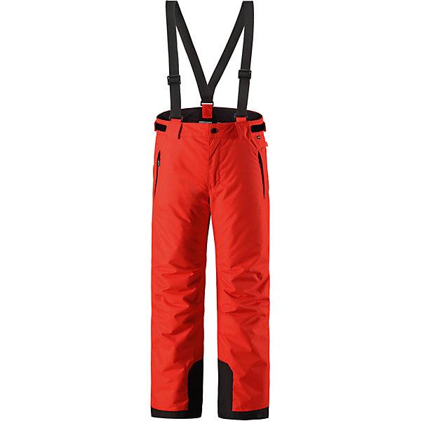 Брюки Reimatec® Reima Takeoff для девочкиОдежда<br>Характеристики товара:<br><br>• цвет: красный;<br>• 100% полиэстер, полиуретановое покрытие;<br>• утеплитель: 100% полиэстер 120 г/м2;<br>• сезон: зима;<br>• температурный режим: от 0 до -20С;<br>• водонепроницаемость: 12000 мм;<br>• воздухопроницаемость: 8000 мм;<br>• износостойкость: 30000 циклов (тест Мартиндейла)<br>• особенности: с подтяжками;<br>• водо- и ветронепроницаемый, дышащий и грязеотталкивающий материал;<br>• все швы проклеены и водонепроницаемы;<br>• гладкая подкладка из полиэстера;<br>• прочные усиленные вставки внизу брючин;<br>• регулируемый обхват талии;<br>• снегозащитные манжеты на штанинах;<br>• застежка: молния, пуговица;<br>• карманы на молнии;<br>• регулируемые съемные эластичные подтяжки;<br>• потайной карман для датчика ReimaGO®;<br>• светоотражающие элементы;<br>• страна бренда: Финляндия;<br>• страна производства: Китай.<br><br>Зимние брюки просто созданы для активных детей: они отталкивают влагу и грязь, а все швы в них проклеены и водонепроницаемы. Ветронепроницаемый и в то же время дышащий материал обеспечивает комфорт во время увлекательных прогулок – ребенку будет тепло, но он не вспотеет. <br><br>Очень удобные съемные и регулируемые подтяжки будут надежно поддерживать брюки во время всех активных приключений. Прочные усиления на концах брючин защищают лодыжки. Благодаря защите от снега, никакой снег и мороз не проберутся внутрь, так что брюки идеально подойдут для сноубординга и горных лыж. <br><br>Регулируемая талия обеспечит отличную посадку по фигуре. Эта модель с прямым, слегка свободным покроем снабжена потайным карманом для сенсора ReimaGO. <br><br>Брюки Takeoff Reimatec® Reima (Рейма) можно купить в нашем интернет-магазине.<br>Ширина мм: 215; Глубина мм: 88; Высота мм: 191; Вес г: 336; Цвет: красный; Возраст от месяцев: 60; Возраст до месяцев: 72; Пол: Женский; Возраст: Детский; Размер: 116,164,158,152,146,140,128,122,110,104,134; SKU: 6904358;