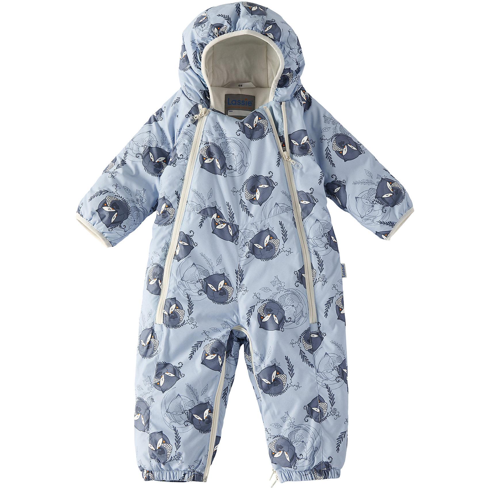 Комбинезон LassieОдежда<br>Зима пришла! Этот прелестный зимний комбинезон для новорожденных и малышей – идеальное решение для холодных зимних деньков! Он легко превращается в конверт. Красивая мягкая внутренняя подкладка из смеси хлопка и эластана приятна к телу и обеспечивает дополнительное утепление, а длинные молнии спереди облегчают надевание. Полезные детали: съемные штрипки, благодаря которым брючины не будут задираться, и безопасный съемный капюшон.<br>Состав:<br>100% Полиэстер<br><br>Ширина мм: 356<br>Глубина мм: 10<br>Высота мм: 245<br>Вес г: 519<br>Цвет: серый<br>Возраст от месяцев: 12<br>Возраст до месяцев: 15<br>Пол: Унисекс<br>Возраст: Детский<br>Размер: 80,62,68,74<br>SKU: 6905343
