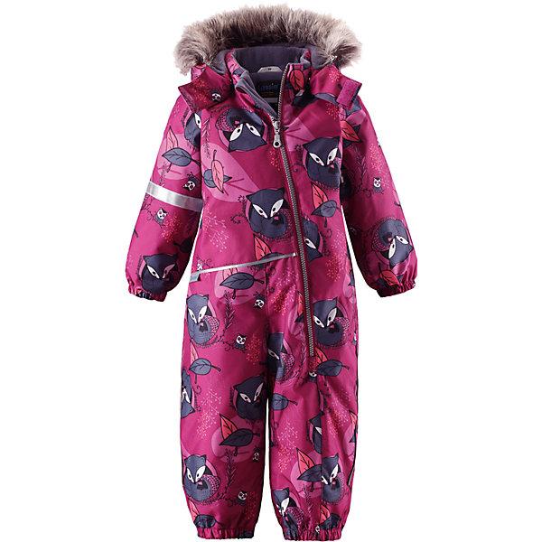 Комбинезон LassieВерхняя одежда<br>Характеристики товара:<br><br>• цвет: розовый;<br>• состав: 100% полиэстер, полиуретановое покрытие;<br>• подкладка: 100% полиэстер;<br>• утеплитель: 180 г/м2;<br>• сезон: зима;<br>• температурный режим: от 0 до -20С;<br>• водонепроницаемость: 1000 мм;<br>• воздухопроницаемость: 1000 мм;<br>• износостойкость: 50000 циклов (тест Мартиндейла)<br>• застежка: молния с защитой подбородка;<br>• водоотталкивающий, ветронепроницаемый и дышащий материал;<br>• сверхпрочный материал;<br>• гладкая подкладка из полиэстера;<br>• безопасный съемный капюшон;<br>• съемный искусственный мех на капюшоне;<br>• эластичные манжеты; <br>• эластичные штанины;<br>• съемные эластичные штрипки;<br>• светоотражающие детали;<br>• страна бренда: Финляндия;<br>• страна изготовитель: Китай;<br><br>Этот красивый комбинезон для малышей исполнен волшебного духа зимы, но при этом очень практичен. Длинная молния спереди облегчает надевание, а съемные штрипки не дают концам брючин задираться. Комбинезон изготовлен из прочного, ветронепроницаемого и дышащего материала с верхним водо- и грязеотталкивающим слоем, он обеспечивает полный комфорт во время веселых прогулок. Задний средний шов проклеен, водонепроницаем. Безопасный съемный капюшон со стильной оторочкой из искусственного меха оживляет зимний образ!<br><br><br>Комбинезон Lassie (Ласси) можно купить в нашем интернет-магазине.<br><br>Ширина мм: 356<br>Глубина мм: 10<br>Высота мм: 245<br>Вес г: 519<br>Цвет: розовый<br>Возраст от месяцев: 6<br>Возраст до месяцев: 9<br>Пол: Женский<br>Возраст: Детский<br>Размер: 74,98,92,86,80<br>SKU: 6905358