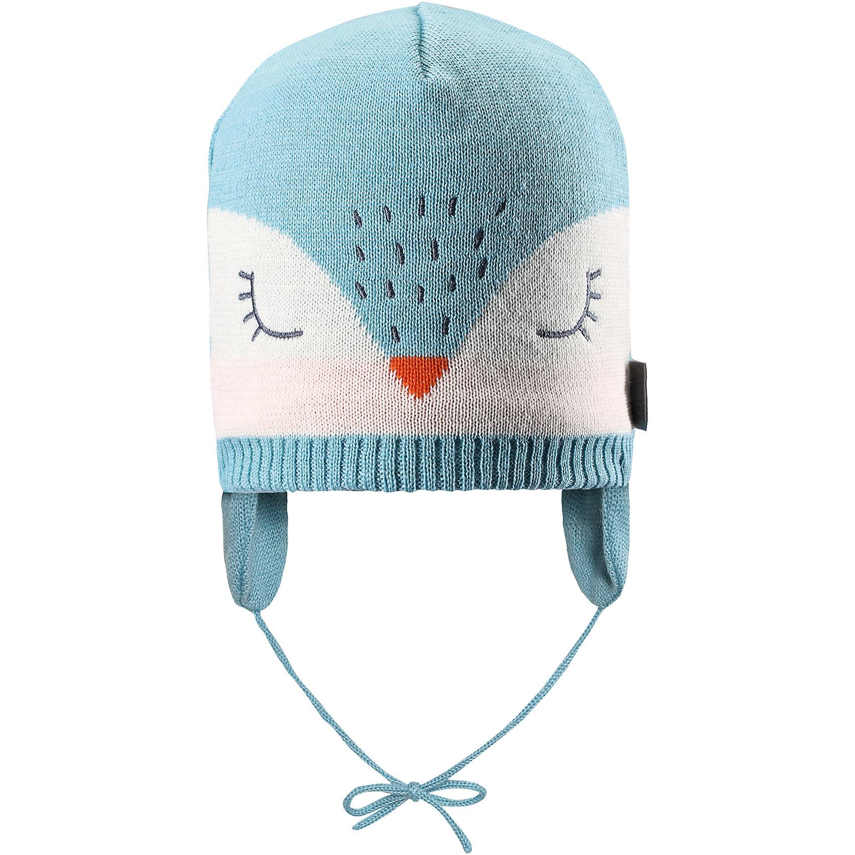 Шапка LassieШапки и шарфы<br>Характеристики товара:<br><br>• цвет: голубой;<br>• состав: 50% шерсть, 50% полиакрил; <br>• подкладка: 100% полиэстер, флис;<br>• сезон: зима;<br>• без дополнительного утепления;<br>• температурный режим: от 0 до -20С;<br>• мягкая и теплая ткань из смеси шерсти;<br>• ветронепроницаемые вставки в области ушей;<br>• сплошная подкладка: мягкий теплый флис;<br>• шапка на завязках;<br>• светоотражающие детали;<br>• страна бренда: Финляндия;<br>• страна изготовитель: Китай;<br><br>Эта очень мягкая и теплая шапка для новорожденных – превосходный аксессуар для холодных зимних деньков. Ветронепроницаемые вставки в области ушей обеспечивают ушкам дополнительную защиту, а мягкая флисовая подкладка очень приятна на ощупь.<br><br>Шапку Lassie (Ласси) можно купить в нашем интернет-магазине.<br><br>Ширина мм: 89<br>Глубина мм: 117<br>Высота мм: 44<br>Вес г: 155<br>Цвет: синий<br>Возраст от месяцев: 36<br>Возраст до месяцев: 72<br>Пол: Унисекс<br>Возраст: Детский<br>Размер: 50-52,42-44,44-46,46-48<br>SKU: 6905550