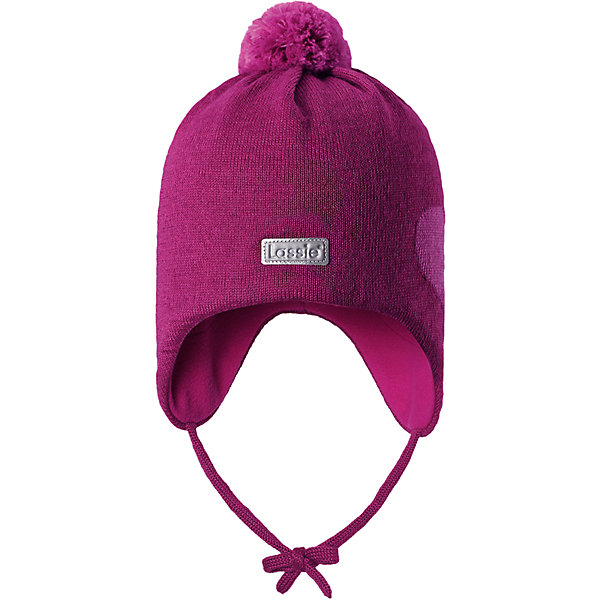 Шапка LassieШапки и шарфы<br>Характеристики товара:<br><br>• цвет: розовый;<br>• состав: 50% шерсть, 50% полиакрил; <br>• подкладка: 100% полиэстер, флис;<br>• сезон: зима;<br>• без дополнительного утепления;<br>• температурный режим: от 0 до -20С;<br>• мягкая и теплая ткань из смеси шерсти;<br>• ветронепроницаемые вставки в области ушей;<br>• сплошная подкладка: мягкий теплый флис;<br>• шапка на завязках, с помпоном сверху;<br>• светоотражающие детали;<br>• страна бренда: Финляндия;<br>• страна изготовитель: Китай;<br><br>Эта стильная шапка для малышей с помпонами контрастного цвета и рисунком оживит зимние наряды! Ветронепроницаемые вставки в области ушей защищают нежные детские ушки во время игр на свежем воздухе. Шапка связана из теплой полушерстяной пряжи.<br><br>Шапку Lassie (Ласси) можно купить в нашем интернет-магазине.<br><br>Ширина мм: 89<br>Глубина мм: 117<br>Высота мм: 44<br>Вес г: 155<br>Цвет: розовый<br>Возраст от месяцев: 6<br>Возраст до месяцев: 9<br>Пол: Женский<br>Возраст: Детский<br>Размер: 42-44,50-52,44-46,46-48<br>SKU: 6905600