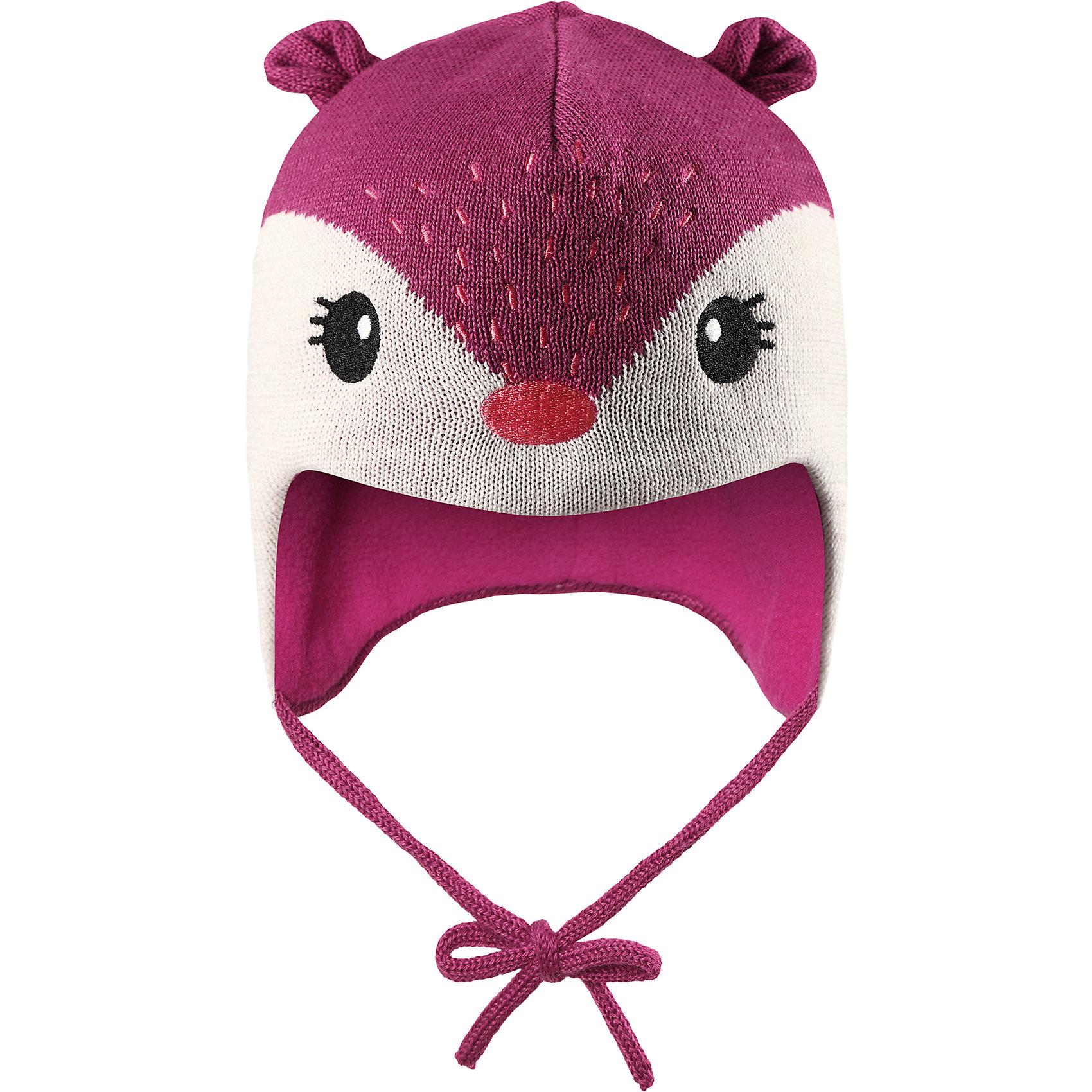 Шапка LassieШапки и шарфы<br>Характеристики товара:<br><br>• цвет: розовый;<br>• состав: 50% шерсть, 50% полиакрил; <br>• подкладка: 100% полиэстер, флис;<br>• сезон: зима;<br>• без дополнительного утепления;<br>• температурный режим: от 0 до -20С;<br>• мягкая и теплая ткань из смеси шерсти;<br>• ветронепроницаемые вставки в области ушей;<br>• сплошная подкладка: мягкий теплый флис;<br>• шапка на завязках, декоративные ушки сверху;<br>• светоотражающие детали;<br>• страна бренда: Финляндия;<br>• страна изготовитель: Китай;<br><br>Эта очень мягкая и теплая шапка для новорожденных – превосходный аксессуар для холодных зимних деньков. Ветронепроницаемые вставки в области ушей обеспечивают ушкам дополнительную защиту, а мягкая флисовая подкладка очень приятна на ощупь.<br><br>Шапку Lassie (Ласси) можно купить в нашем интернет-магазине.<br><br>Ширина мм: 89<br>Глубина мм: 117<br>Высота мм: 44<br>Вес г: 155<br>Цвет: розовый<br>Возраст от месяцев: 36<br>Возраст до месяцев: 72<br>Пол: Унисекс<br>Возраст: Детский<br>Размер: 50-52,42-44,44-46,46-48<br>SKU: 6905615