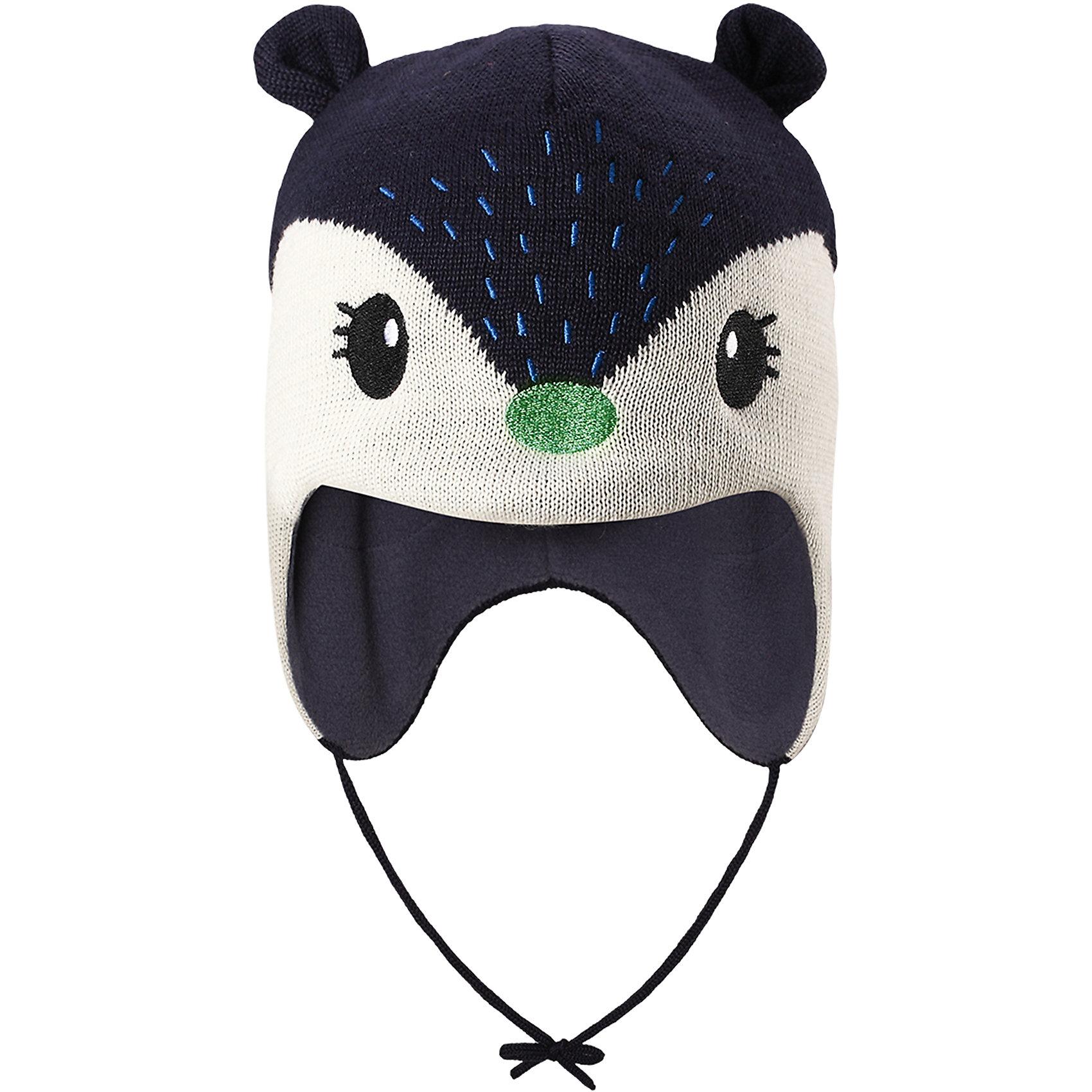 Шапка LassieШапки и шарфы<br>Эта очень мягкая и теплая шапка для новорожденных – превосходный аксессуар для холодных зимних деньков. Ветронепроницаемые вставки в области ушей обеспечивают ушкам дополнительную защиту, а мягкая флисовая подкладка очень приятна на ощупь.<br>Состав:<br>50% Шерсть, 50% Полиакрил<br><br>Ширина мм: 89<br>Глубина мм: 117<br>Высота мм: 44<br>Вес г: 155<br>Цвет: синий<br>Возраст от месяцев: 6<br>Возраст до месяцев: 9<br>Пол: Унисекс<br>Возраст: Детский<br>Размер: 42-44,50-52,46-48,44-46<br>SKU: 6905620