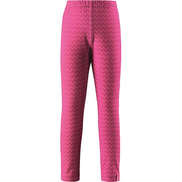 Брюки Reima Toimii для девочкиОдежда<br>Характеристики товара:<br><br>• цвет: розовый;<br>• состав: 61% хлопок, 33% полиэстер, 6% эластан; <br>• сезон: демисезон;<br>• быстросохнущий материал Play jersey, приятный на ощупь;<br>• мягкий хлопчатобумажный верх, внутренняя поверхность хорошо выводит влагу;<br>• эластичная талия;<br>• страна бренда: Финляндия;<br>• страна изготовитель: Китай;<br><br>Леггинсы изготовлены из удобного быстросохнущего материала Play Jersey. Хлопковая поверхность очень мягкая и приятна на ощупь, а изнаночная сторона эффективно отводит влагу. Благодаря эластану, ткань тянется, обеспечивает комфорт и не сковывает движений во время подвижных веселых игр. Одежду Play Jersey можно носить круглый год – материал имеет УФ-защиту 40+. <br><br>Брюки Toimii Reima (Рейма) можно купить в нашем интернет-магазине.<br>Ширина мм: 215; Глубина мм: 88; Высота мм: 191; Вес г: 336; Цвет: розовый; Возраст от месяцев: 108; Возраст до месяцев: 120; Пол: Женский; Возраст: Детский; Размер: 134,128,122,116,110,104,98,92,164,158,152,146,140; SKU: 6906109;