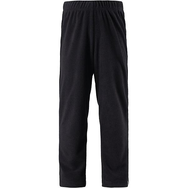Флисовые брюки Reima CentaurОдежда<br>Характеристики товара:<br><br>• цвет: черный;<br>• состав: 100% полиэстер; <br>• сезон: демисезон;<br>• выводит влагу в верхние слои одежды;<br>• теплый, легкий и быстросохнущий флис;<br>• эластичная талия;<br>• страна бренда: Финляндия;<br>• страна изготовитель: Китай;<br><br>Эти брюки подойдут и мальчикам, и девочкам – то, что надо, для активных прогулок. Полярный флис эффективно выводит влагу от кожи в верхние слои одежды и быстро сохнет. Благодаря тому, что брюки сшиты из дышащего материала, они не парят, сколько ни бегай.<br><br>Брюки флисовые Centaur Reima(Рейма) можно купить в нашем интернет-магазине.<br>Ширина мм: 215; Глубина мм: 88; Высота мм: 191; Вес г: 336; Цвет: черный; Возраст от месяцев: 36; Возраст до месяцев: 48; Пол: Унисекс; Возраст: Детский; Размер: 104,164,110,116,122,128,134,140,146,152,158; SKU: 6906221;