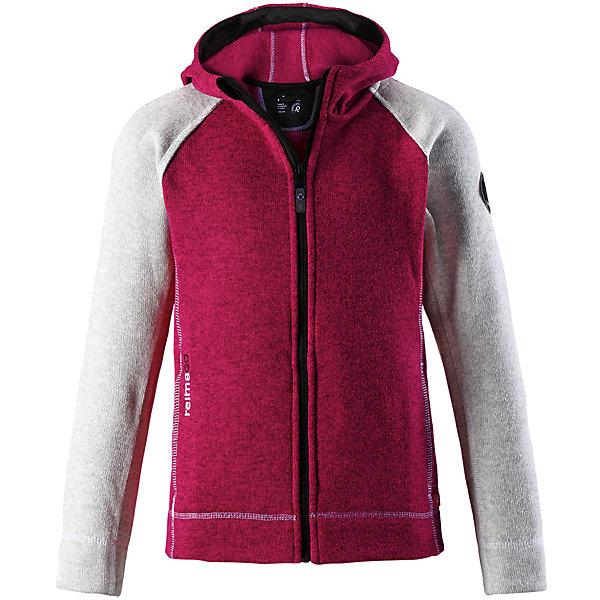 Флисовая кофта Reima JakalaФлис и термобелье<br>Характеристики товара:<br><br>• цвет: розовый/серый;<br>• состав: 100% полиэстер; <br>• сезон: демисезон;<br>• мягкий меланжевый флисовый трикотаж: выглядит, как обычный свитер, и обладает всеми преимуществами флиса;<br>• быстро сохнет и сохраняет тепло;<br>• регулируемый капюшон;<br>• молния по всей длине с защитой подбородка;<br>• два передних кармана;<br>• карман с креплениями для сенсора ReimaGO®;<br>• страна бренда: Финляндия;<br>• страна изготовитель: Китай;<br><br>Удобная детская флисовая кофта из мягкой меланжевой пряжи. Она сшита из материала, который объединил в себе стильный вязаный дизайн и все преимущества флиса: удобный, легкий, эластичный и дышащий флис быстро сохнет, выводя влагу в верхние слои одежды. Кофта снабжена капюшоном, молнией во всю длину, двумя передними карманами на молнии и специальным карманом с кнопками для сенсора ReimaGo.<br><br>Флисовую кофту Reima Jakala (Рейма) можно купить в нашем интернет-магазине.<br><br>Ширина мм: 190<br>Глубина мм: 74<br>Высота мм: 229<br>Вес г: 236<br>Цвет: розовый<br>Возраст от месяцев: 36<br>Возраст до месяцев: 48<br>Пол: Унисекс<br>Возраст: Детский<br>Размер: 104,164,152,158,146,140,134,128,122,116,110<br>SKU: 6906233