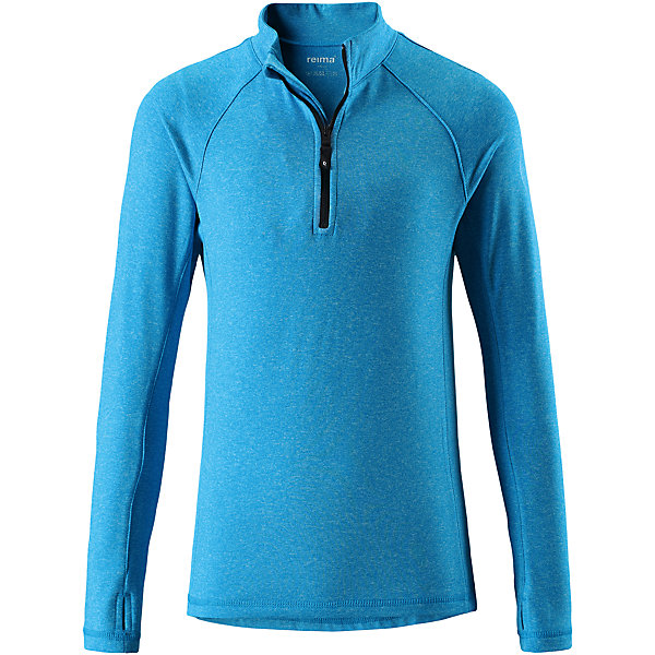 Свитер Reima Sly для мальчикаФлис и термобелье<br>Характеристики товара:<br><br>• цвет: голубой;<br>• состав: 92% полиэстер, 8% эластан; <br>• сезон: демисезон;<br>• мягкая ткань с начесом, приятная на ощупь;<br>• гладкая передняя часть;<br>• выводит влагу в верхние слои одежды;<br>• отверстие для большого пальца на манжете;<br>• молния спереди;<br>• страна бренда: Финляндия;<br>• страна изготовитель: Китай;<br><br>Популярная кофта для подростков изготовлена из мягкого эластичного меланжевого джерси с гладкой поверхностью. Изнаночная сторона с начесом очень удобная и приятная на ощупь, а удлиненная спинка обеспечивает пояснице дополнительную защиту. Этот дышащий материал отводит влагу от кожи и быстро сохнет, благодаря чему кофта стенет отличным выбором для активных прогулок. Материал имеет УФ-защиту 50+. Эта кофта для девочек снабжена молнией спереди и удобным отверстием для большого пальца на концах рукавов.<br><br>Свитер Sly для мальчика Reima (Рейма) можно купить в нашем интернет-магазине.<br>Ширина мм: 190; Глубина мм: 74; Высота мм: 229; Вес г: 236; Цвет: синий; Возраст от месяцев: 36; Возраст до месяцев: 48; Пол: Мужской; Возраст: Детский; Размер: 104,164,158,152,146,140,134,128,122,116,110; SKU: 6906377;