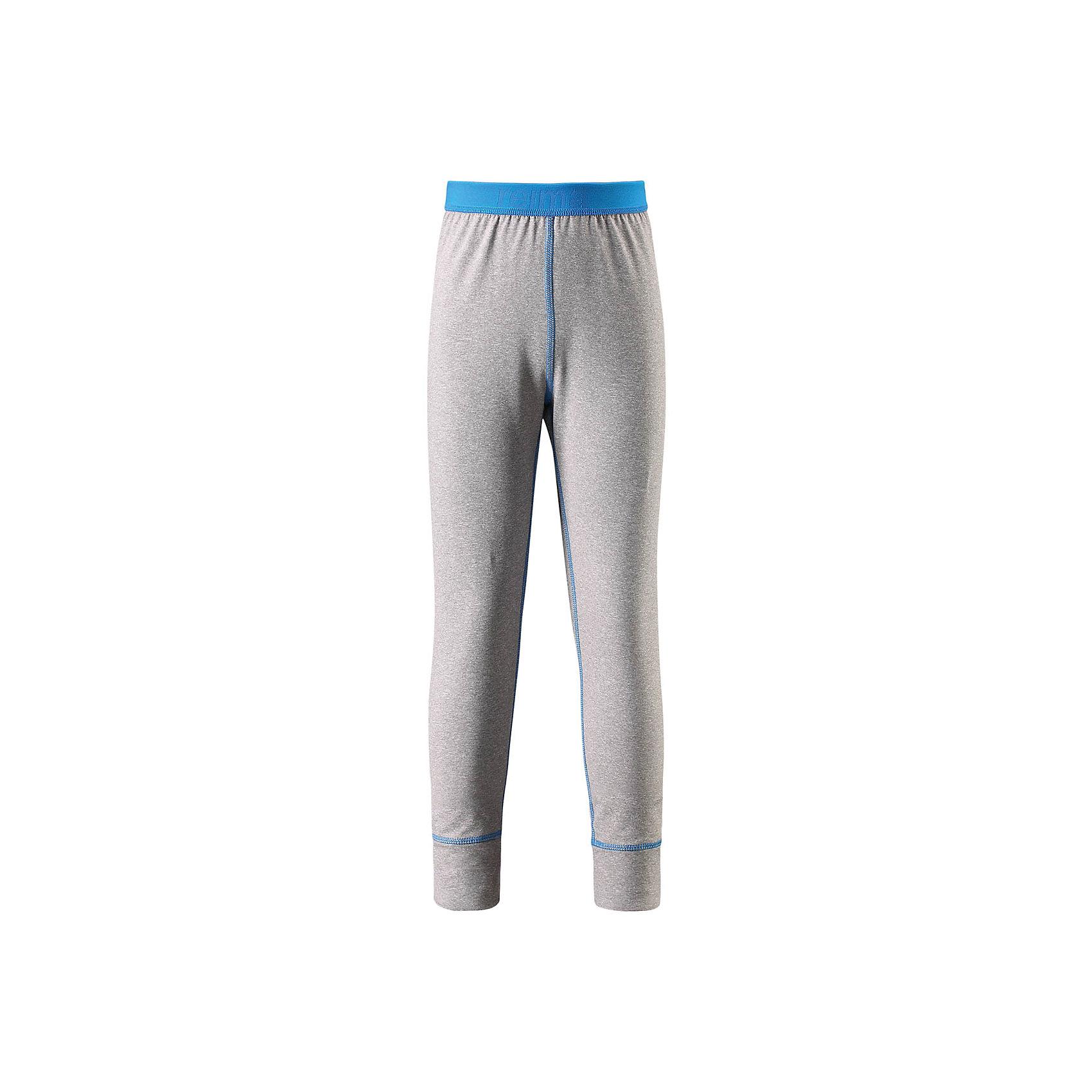 Брюки Reima FilzФлис и термобелье<br>Характеристики товара:<br><br>• цвет: серый/голубой;<br>• состав: 92% полиэстер, 8% эластан; <br>• сезон: демисезон;<br>• мягкая ткань с начесом, приятная на ощупь;<br>• гладкая передняя часть;<br>• выводит влагу в верхние слои одежды;<br>• мягкие плоские швы для дополнительного комфорта: не раздражают кожу;<br>• эластичная талия;<br>• страна бренда: Финляндия;<br>• страна изготовитель: Китай;<br><br>Удобные стрейчевые леггинсы для подростков изготовлены из мягкого эластичного меланжевого джерси с гладкой поверхностью. Изнаночная сторона с начесом очень удобная и приятная на ощупь, а плоские швы не натирают кожу. Дышащий материал эффективно выводит влагу в верхние слои одежды и быстро сохнет. Материал имеет УФ-защиту 50+. Эти леггинсы станут отличным выбором для активных прогулок.<br><br>Брюки Filz Reima (Рейма) можно купить в нашем интернет-магазине.<br><br>Ширина мм: 215<br>Глубина мм: 88<br>Высота мм: 191<br>Вес г: 336<br>Цвет: серый<br>Возраст от месяцев: 156<br>Возраст до месяцев: 168<br>Пол: Унисекс<br>Возраст: Детский<br>Размер: 164,104,110,116,122,128,134,140,146,152,158<br>SKU: 6906413