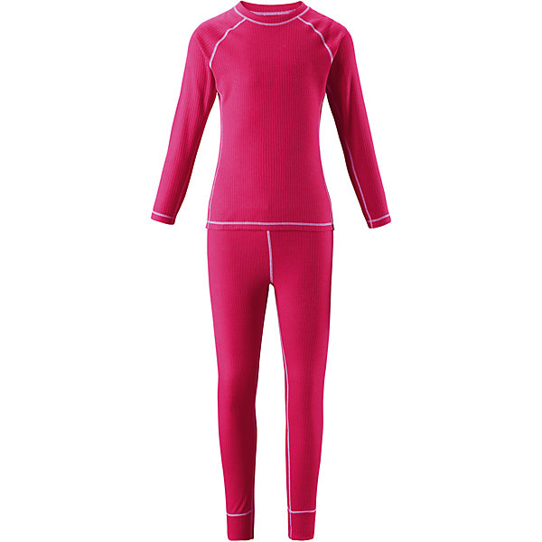 Комплект термобелья Reima Cepheus для девочкиФлис и термобелье<br>Характеристики товара:<br><br>• цвет: розовый;<br>• состав: 100% полиэстер; <br>• сезон: демисезон;<br>• выводит влагу наружу;<br>• специальный материал обеспечивает дополнительный комфорт;<br>• удлиненный подол сзади для дополнительной защиты;<br>• мягкие плоские швы для дополнительного комфорта: не раздражают кожу;<br>• швы контрастного цвета;<br>• страна бренда: Финляндия;<br>• страна изготовитель: Китай;<br><br>Детский базовый комплект станет отличным выбором для любителей активного отдыха на свежем воздухе: материал эффективно выводит влагу в верхние слои одежды и быстро сохнет. Комплект очень приятный на ощупь, он просто создан для веселых прогулок – в нем ребенок не замерзнет и не вспотеет! Футболка с удлиненной спинкой обеспечивает дополнительную защиту для поясницы, а мягкие и плоские швы не натирают кожу. <br><br>Комплект термобелья Reima Cepheus (Рейма) можно купить в нашем интернет-магазине.<br><br>Ширина мм: 196<br>Глубина мм: 10<br>Высота мм: 154<br>Вес г: 152<br>Цвет: розовый<br>Возраст от месяцев: 24<br>Возраст до месяцев: 36<br>Пол: Женский<br>Возраст: Детский<br>Размер: 100,110,120,130,140,150,160,170<br>SKU: 6906425