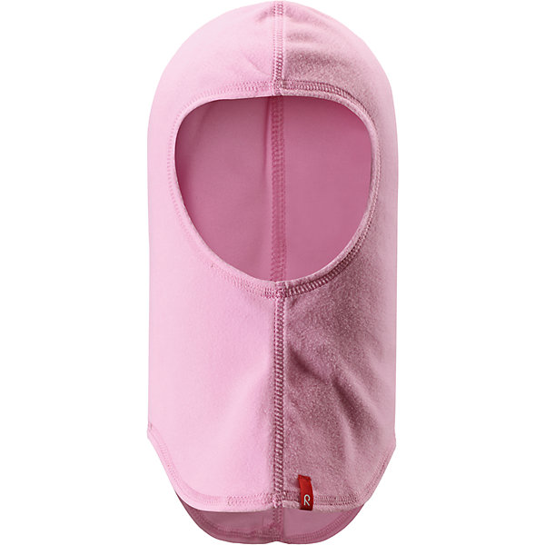Флисовая шапка-шлем Reima HuuhkajaШапки и шарфы<br>Характеристики товара:<br><br>• цвет: розовый;<br>• 100% полиэстер,  флис;<br>• сезон: демисезон;<br>• шапка-шлем базового слоя для детей;<br>• теплый, легкий и быстросохнущий флис;<br>• легкий стиль, без подкладки;<br>• логотип Reima® спереди;<br>• страна бренда: Финляндия;<br>• страна производства: Китай.<br><br>Шапка-шлем для малышей и детей постарше из теплого и быстросохнущего микрофлиса. Этот материал приятный на ощупь, эластичный, дышащий и отводит влагу от кожи. Облегченная модель без подкладки подарит ребенку комфорт, а в холода ее можно поддевать под теплую шапку.<br><br>Флисовую шапку-шлем Reima Huuhkaja (Рейма) можно купить в нашем интернет-магазине.<br>Ширина мм: 89; Глубина мм: 117; Высота мм: 44; Вес г: 155; Цвет: розовый; Возраст от месяцев: 36; Возраст до месяцев: 48; Пол: Унисекс; Возраст: Детский; Размер: 50-52,54-56; SKU: 6906652;