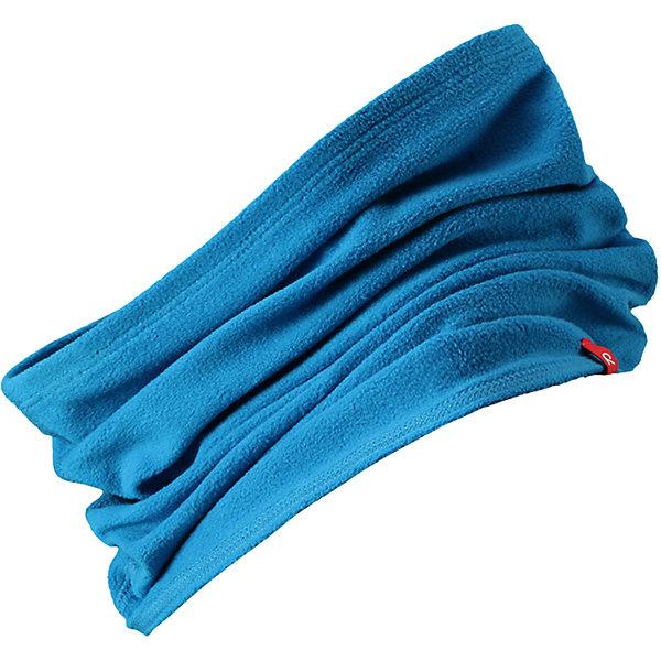 Шарф-хомут Reima HuuhkainШапки и шарфы<br>Характеристики товара:<br><br>• цвет: голубой;<br>• состав: 100% полиэстер; <br>• сезон: зима;<br>• теплый, легкий и быстросохнущий флис;<br>• легкая стиль, без подкладки;<br>• страна бренда: Финляндия;<br>• страна изготовитель: Китай;<br><br>Шарф-хомут для малышей и детей постарше сшит из теплого и быстросохнущего микрофлиса. Этот материал приятный на ощупь, эластичный, дышащий и отводит влагу от кожи – в нем ребенку будет тепло намного дольше. Облегченную модель без подкладки легко и удобно надевать. Шарф-хомут надежно согреет вашего покорителя погоды.<br><br>Шарф-хомут Reima Huuhkain (Рейма) можно купить в нашем интернет-магазине.<br><br>Ширина мм: 88<br>Глубина мм: 155<br>Высота мм: 26<br>Вес г: 106<br>Цвет: синий<br>Возраст от месяцев: 48<br>Возраст до месяцев: 168<br>Пол: Унисекс<br>Возраст: Детский<br>Размер: one size<br>SKU: 6906663