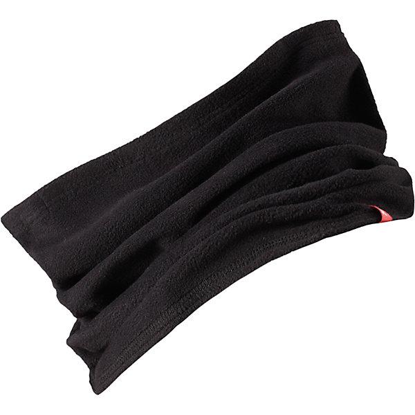 Шарф-хомут Reima HuuhkainШапки и шарфы<br>Характеристики товара:<br><br>• цвет: черный;<br>• состав: 100% полиэстер; <br>• сезон: зима;<br>• теплый, легкий и быстросохнущий флис;<br>• легкая стиль, без подкладки;<br>• страна бренда: Финляндия;<br>• страна изготовитель: Китай;<br><br>Шарф-хомут для малышей и детей постарше сшит из теплого и быстросохнущего микрофлиса. Этот материал приятный на ощупь, эластичный, дышащий и отводит влагу от кожи – в нем ребенку будет тепло намного дольше. Облегченную модель без подкладки легко и удобно надевать. Шарф-хомут надежно согреет вашего покорителя погоды.<br><br>Шарф-хомут Reima Huuhkain (Рейма) можно купить в нашем интернет-магазине.<br><br>Ширина мм: 88<br>Глубина мм: 155<br>Высота мм: 26<br>Вес г: 106<br>Цвет: черный<br>Возраст от месяцев: 48<br>Возраст до месяцев: 168<br>Пол: Унисекс<br>Возраст: Детский<br>Размер: one size<br>SKU: 6906665