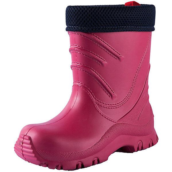 Резиновые сапоги Reima Frillo  для девочкиРезиновые сапоги<br>Характеристики товара:<br><br>• цвет: розовый;<br>• внешний материал: ЭВА;<br>• внутренний материал: текстиль;<br>• стелька: текстиль;<br>• подошва: ЭВА;<br>• сезон: демисезон;<br>• температурный режим: от 0 до +15С;<br>• водонепроницаемая демисезонная обувь;<br>• простой в уходе материал верха;<br>• эластичная и легкая подошва из ЭВА;<br>• текстильная подкладка;<br>• съемный внутренний сапожок;<br>• не содержит ПВХ;<br>• страна бренда: Финляндия;<br>• страна производства: Италия.<br><br>Суперлегкие резиновые сапоги Frillo к прогулке готовы! Сапоги изготовлены из очень легкого, полностью водонепроницаемого материала, не содержащего ПВХ. Эта модель легко надевается и снабжена удобным съемным носком, который можно стирать. <br><br><br>Резиновые сапоги Frillo Reima (Рейма) можно купить в нашем интернет-магазине.<br><br>Ширина мм: 237<br>Глубина мм: 180<br>Высота мм: 152<br>Вес г: 438<br>Цвет: розовый<br>Возраст от месяцев: 84<br>Возраст до месяцев: 96<br>Пол: Женский<br>Возраст: Детский<br>Размер: 34/35,22/23,24/25,26/27,28/29,30/31,32/33<br>SKU: 6906676
